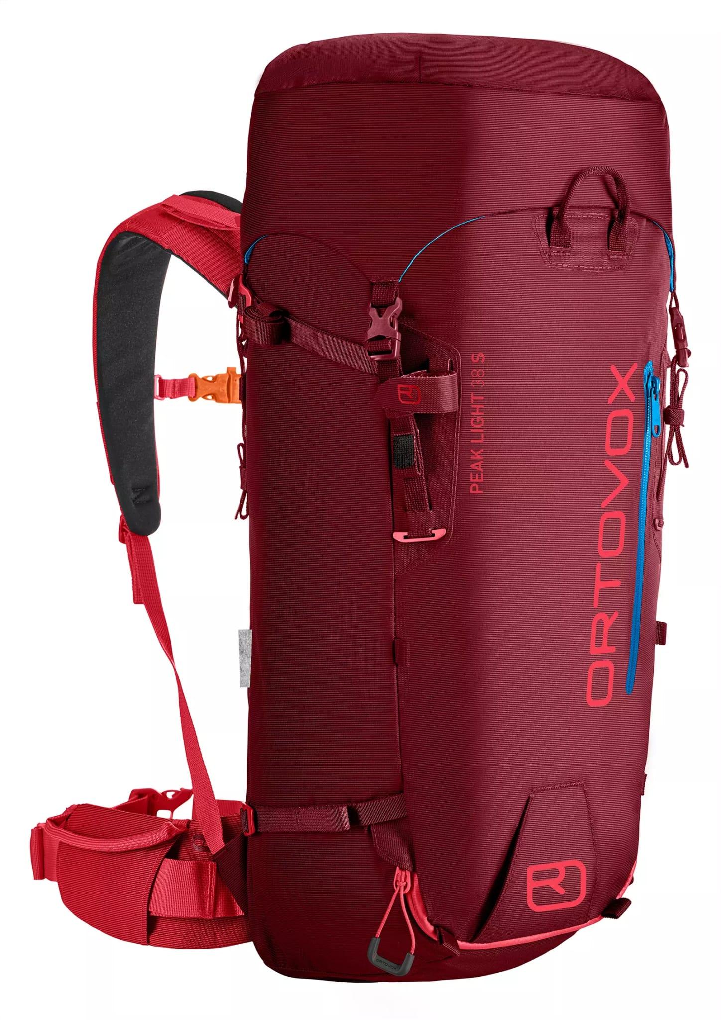 Lett sekk med kort rygg for klatring og ski hele året