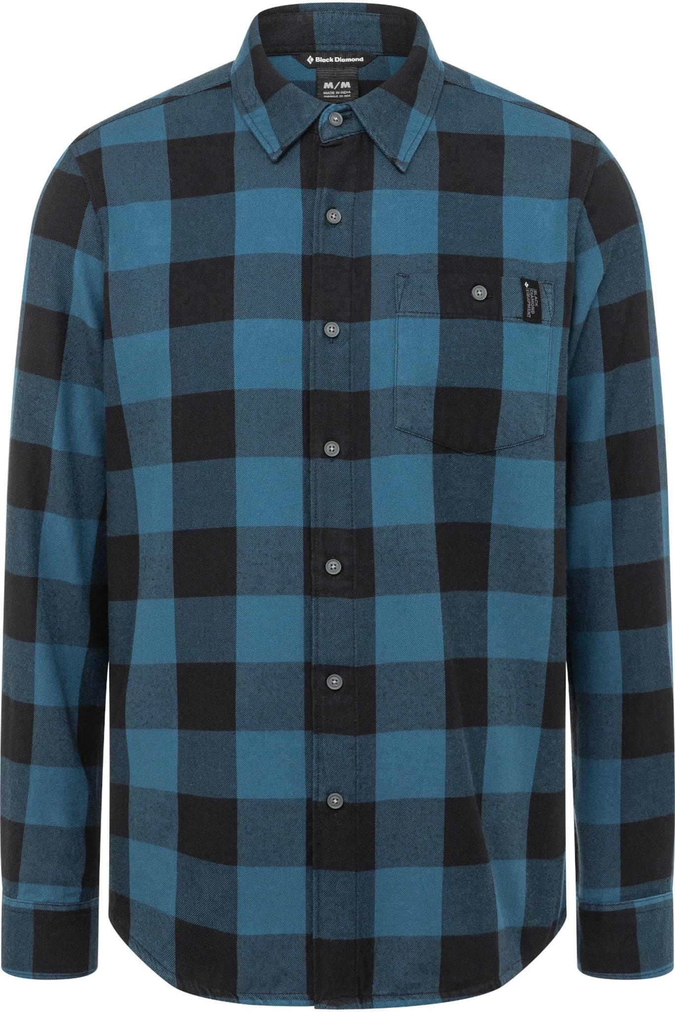 Flanellskjorte til hverdags og klatring