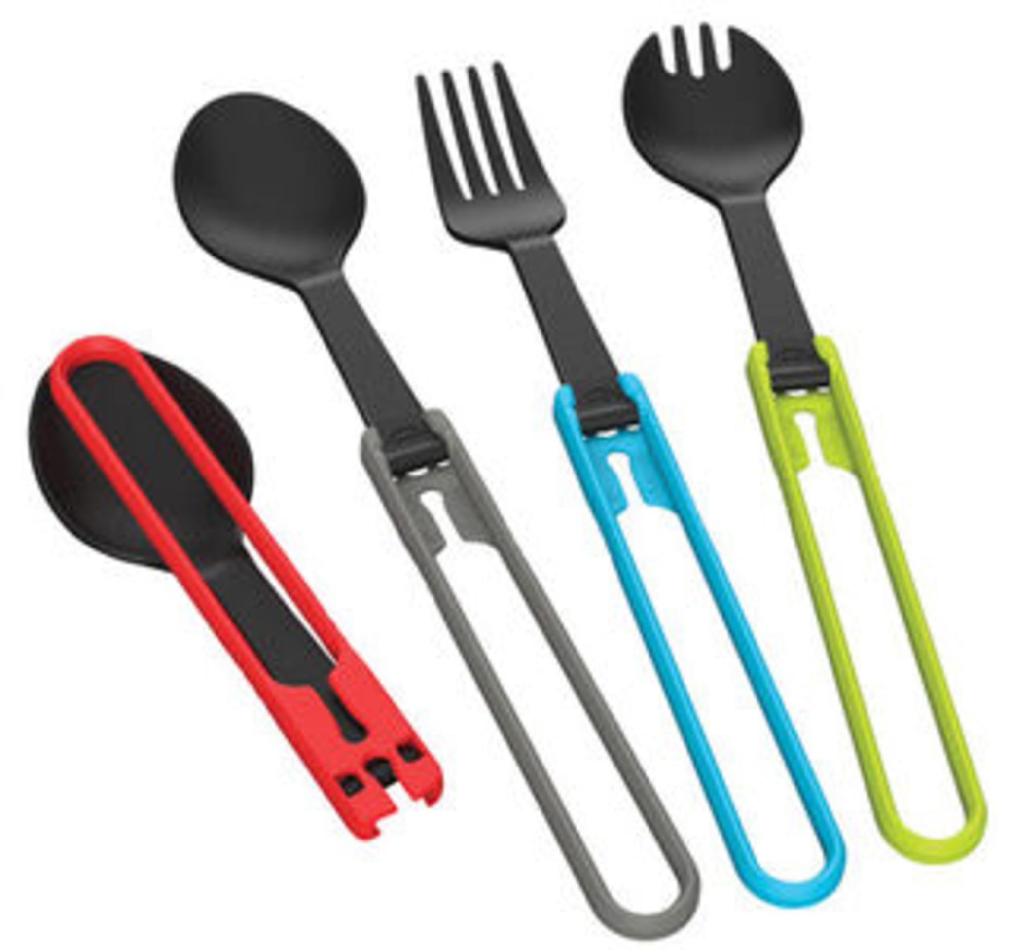 Sammenleggbar gaffel med god holdbarhet og lav vekt
