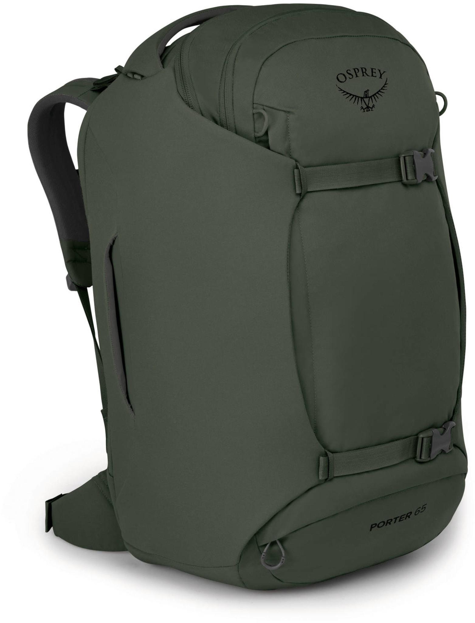 Svært praktisk reiseryggsekk/-bagg i resirkulert materiale
