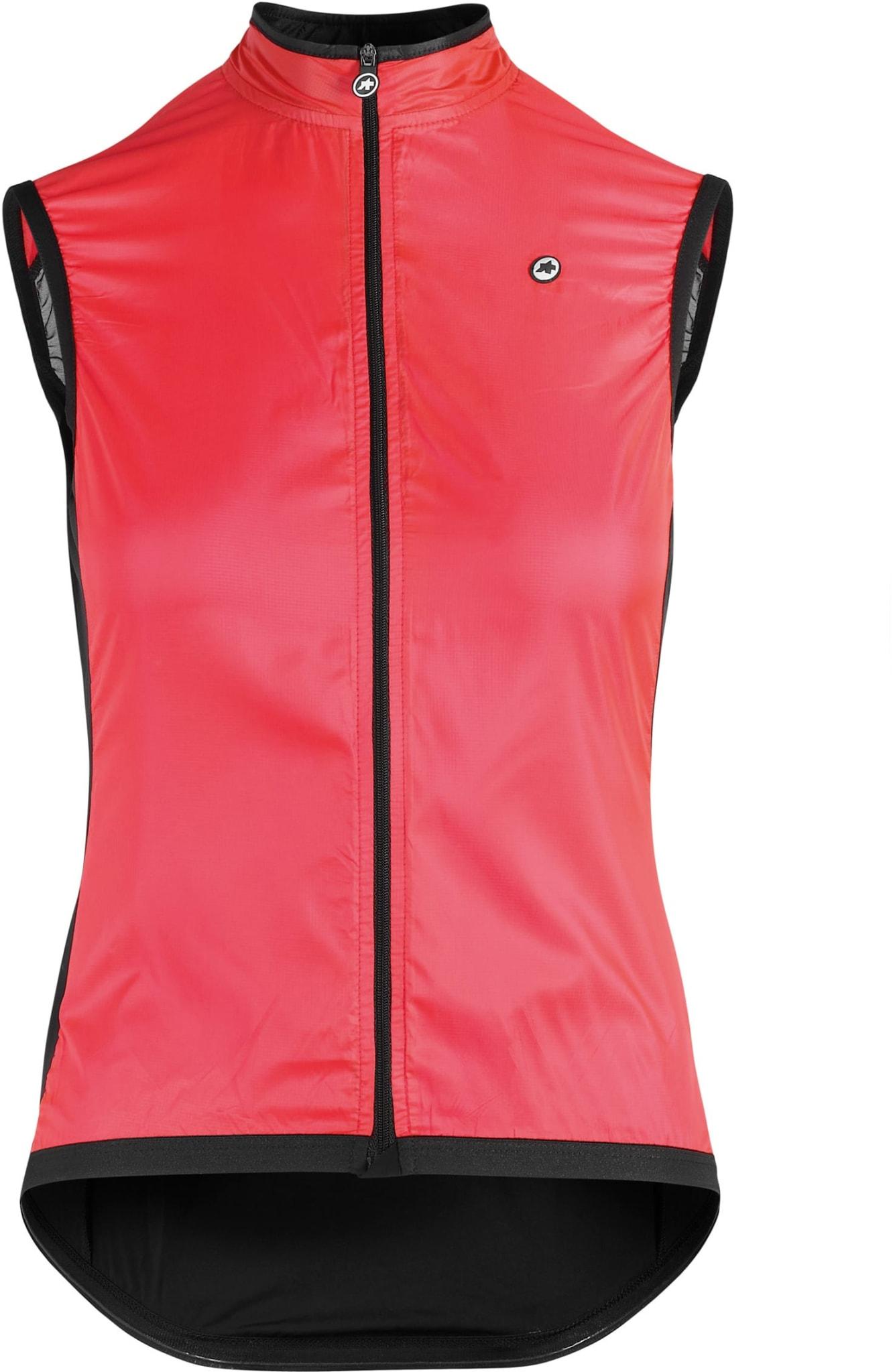 Vindtett og lettvektsvest for de kvinnelige syklistene som ønsker litt ekstra beskyttelse.