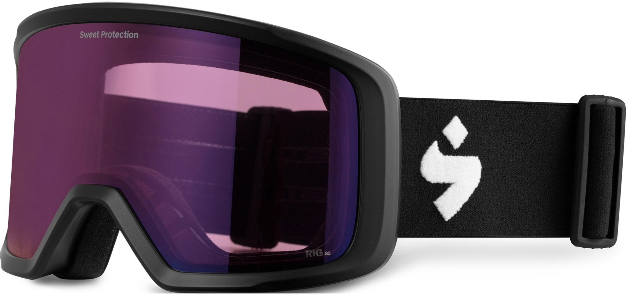 Stilig brille med sylindrisk utforming og RIG glass