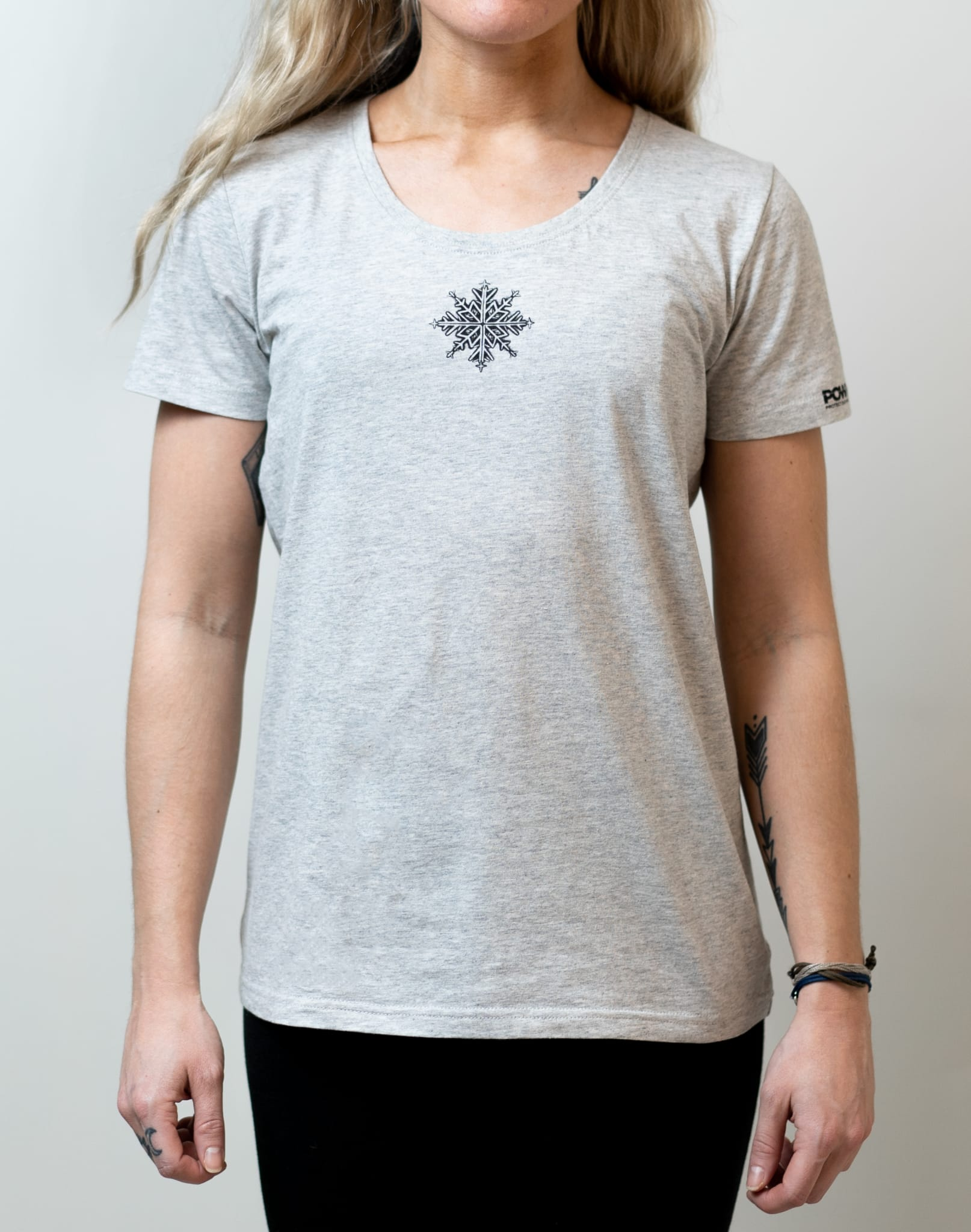 Super Hero Tee: The snowflake