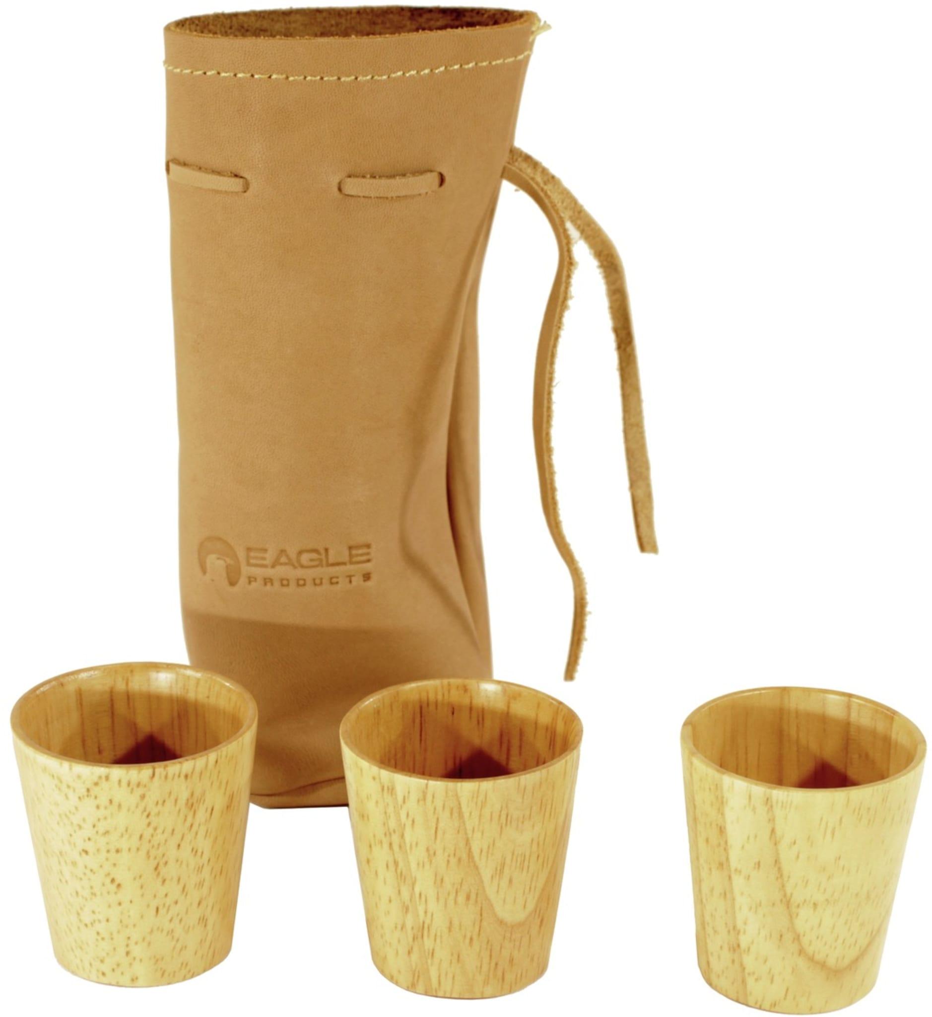Holdbare og elegante drammeglass i tre