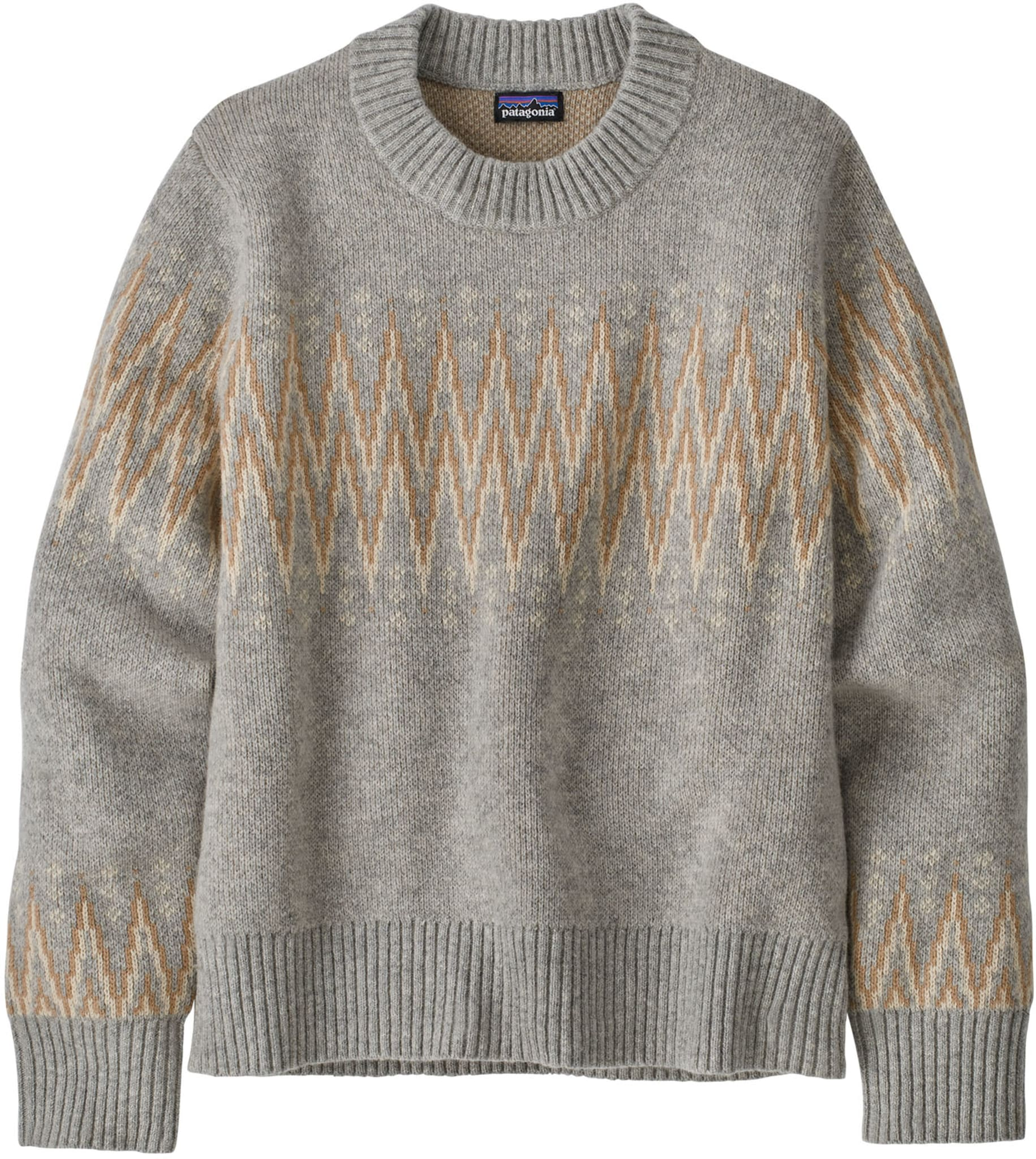 Recycled Wool Crewneck Sweater Ws