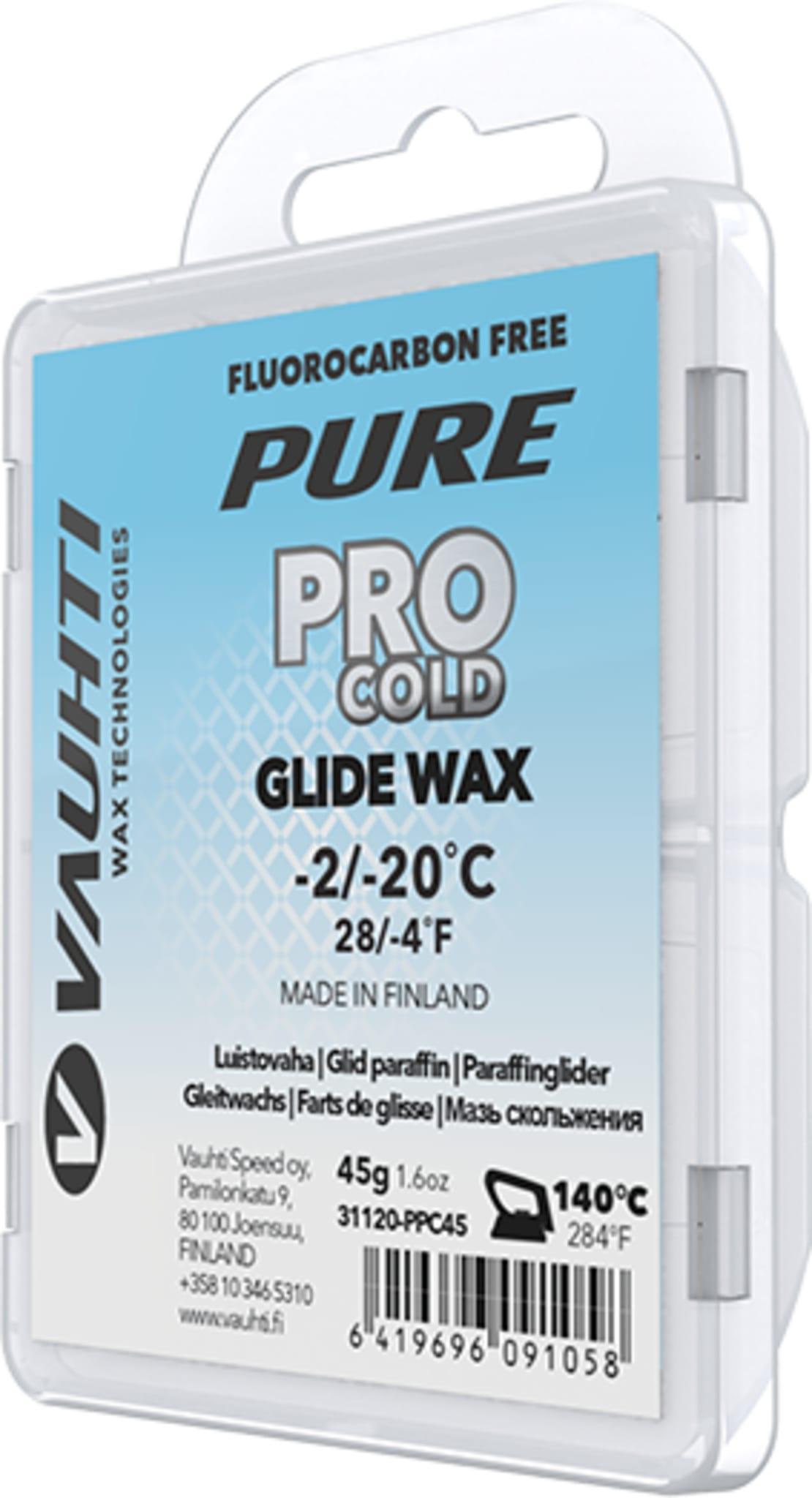 Fluorfri hardglider fra Vauhti i temperaturene -2/-20