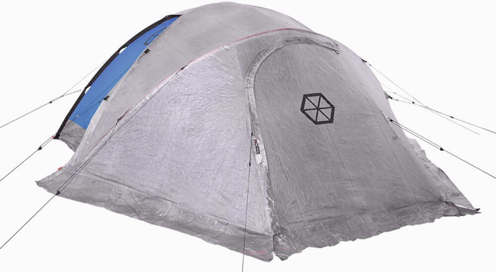Vestibyle til Samaya 2.0 telt