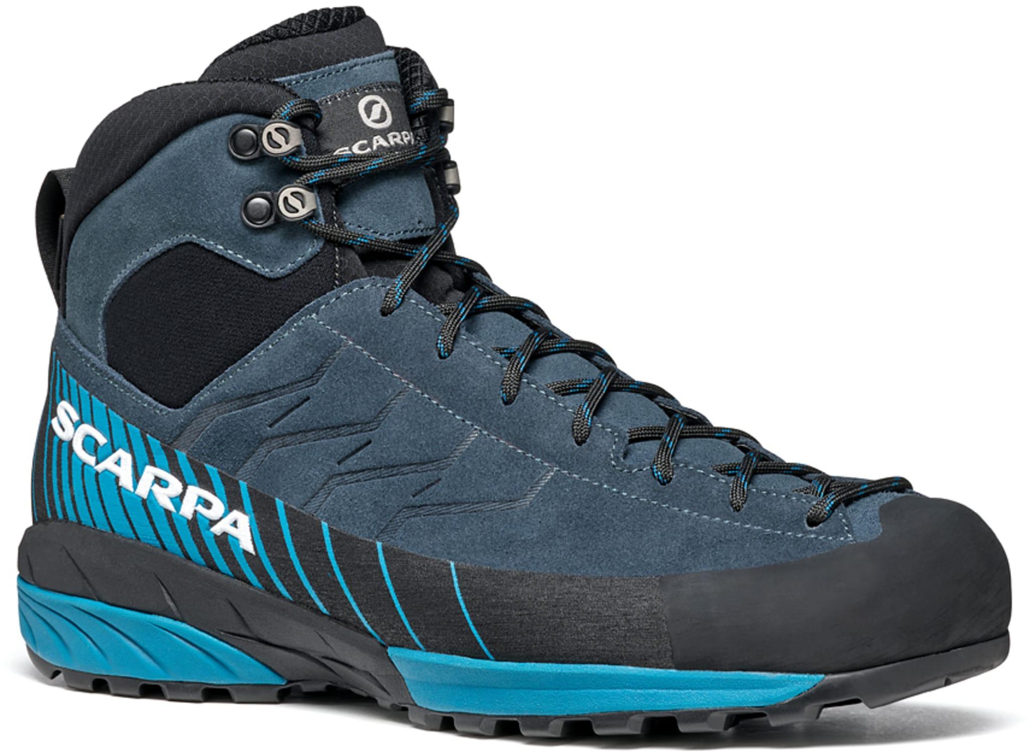 Teknisk og vanntett sko med Gore-Tex for anmarsjer, via-ferrata og lette fotturer