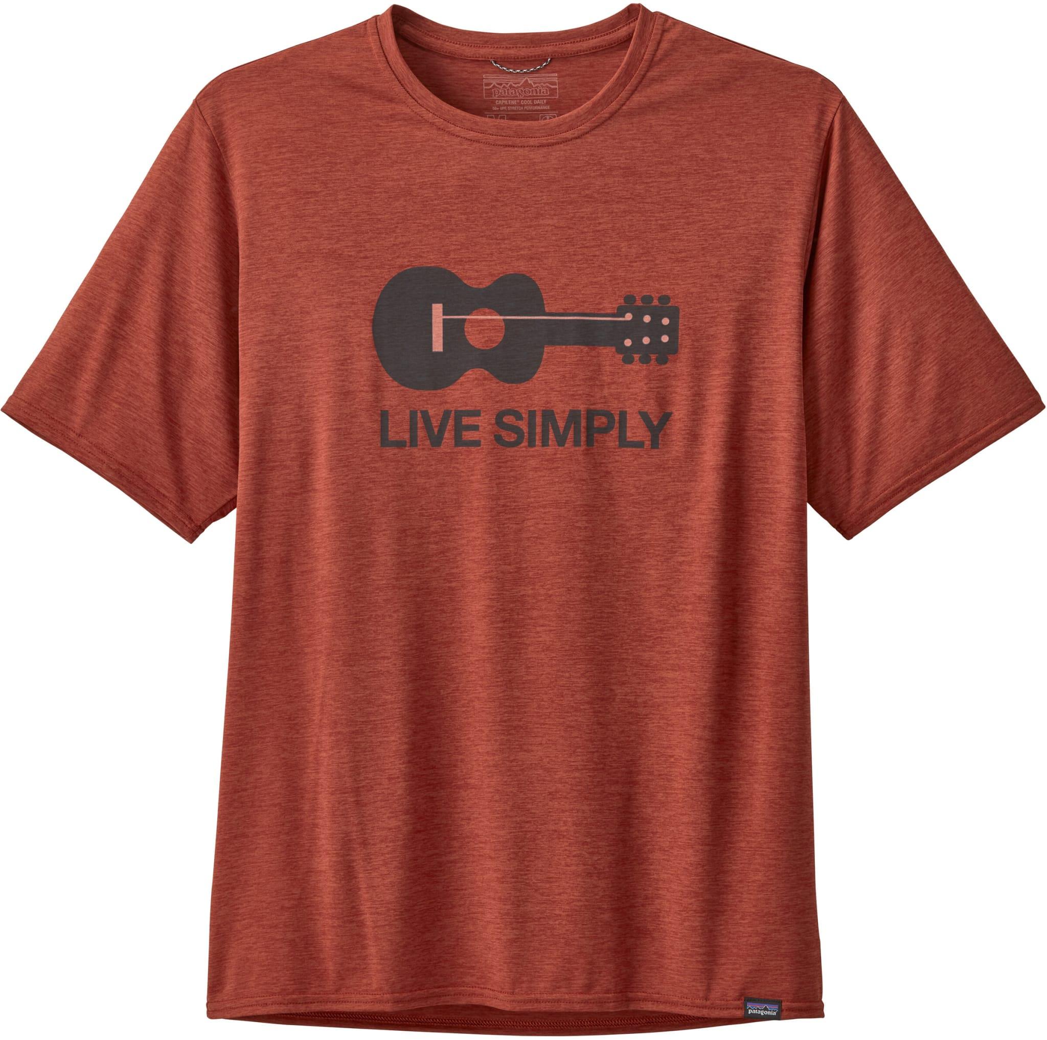 Teknisk t-skjorte til herre
