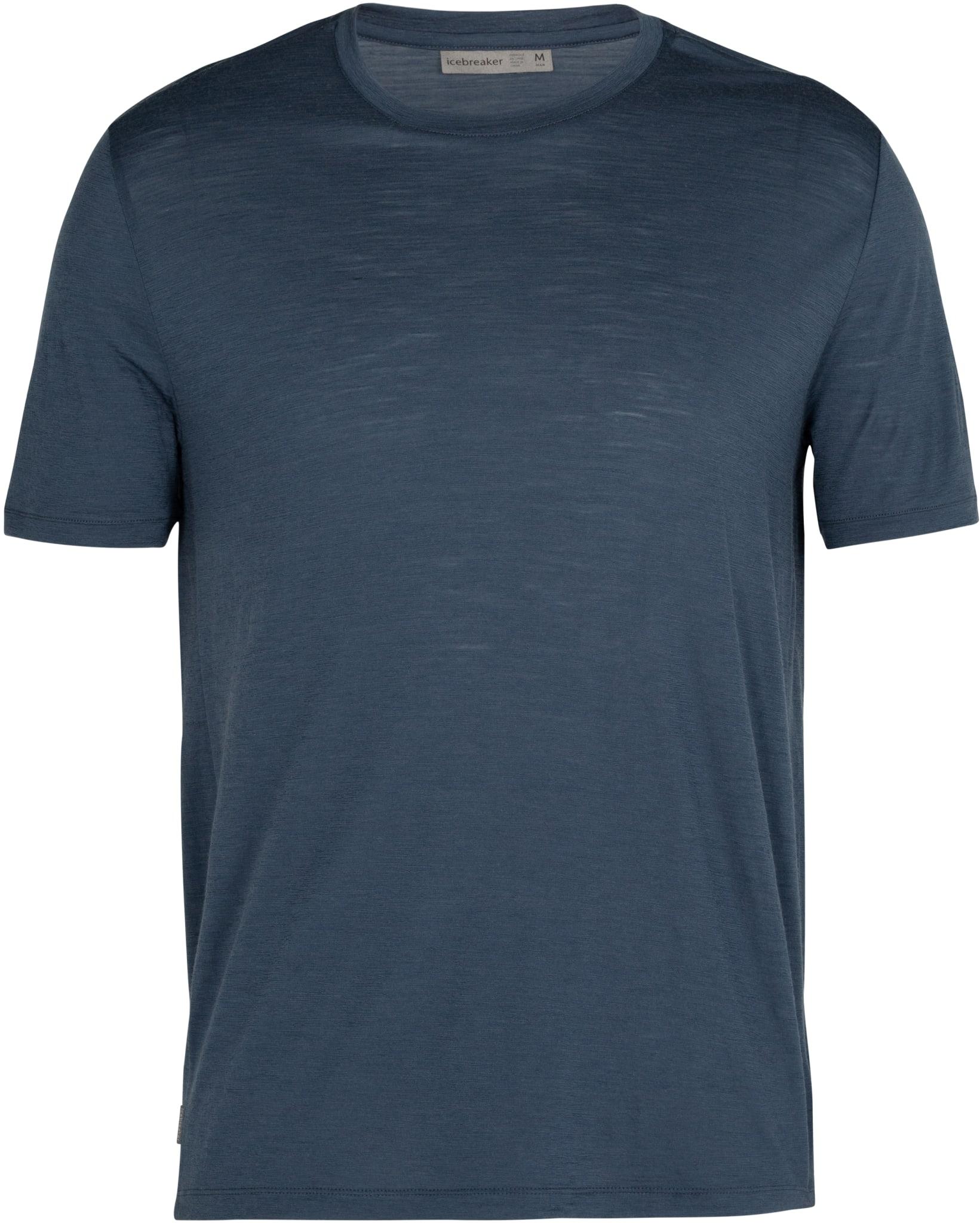 Superlett og pustene t-skjorte i merinoull