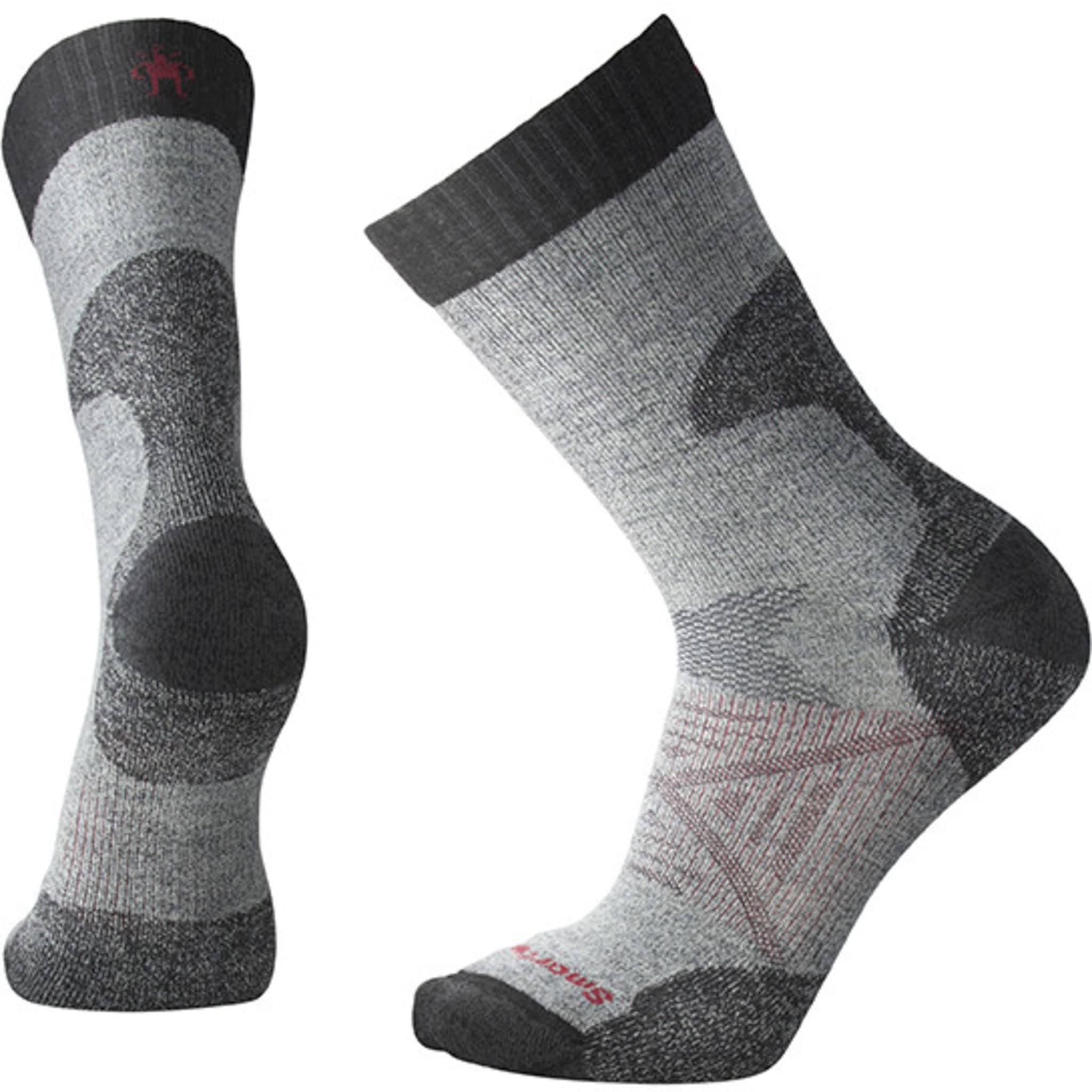 Komfortable og slitesterke sokker med ekstra varme rundt akilles