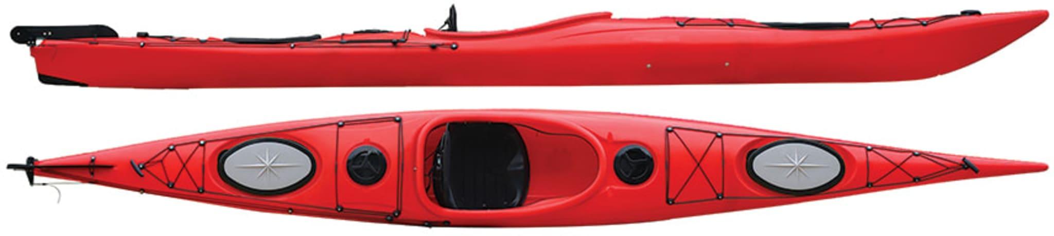 Suveren plastbåt for de som ønsker en slitesterk og stabil båt, komplett med åre!