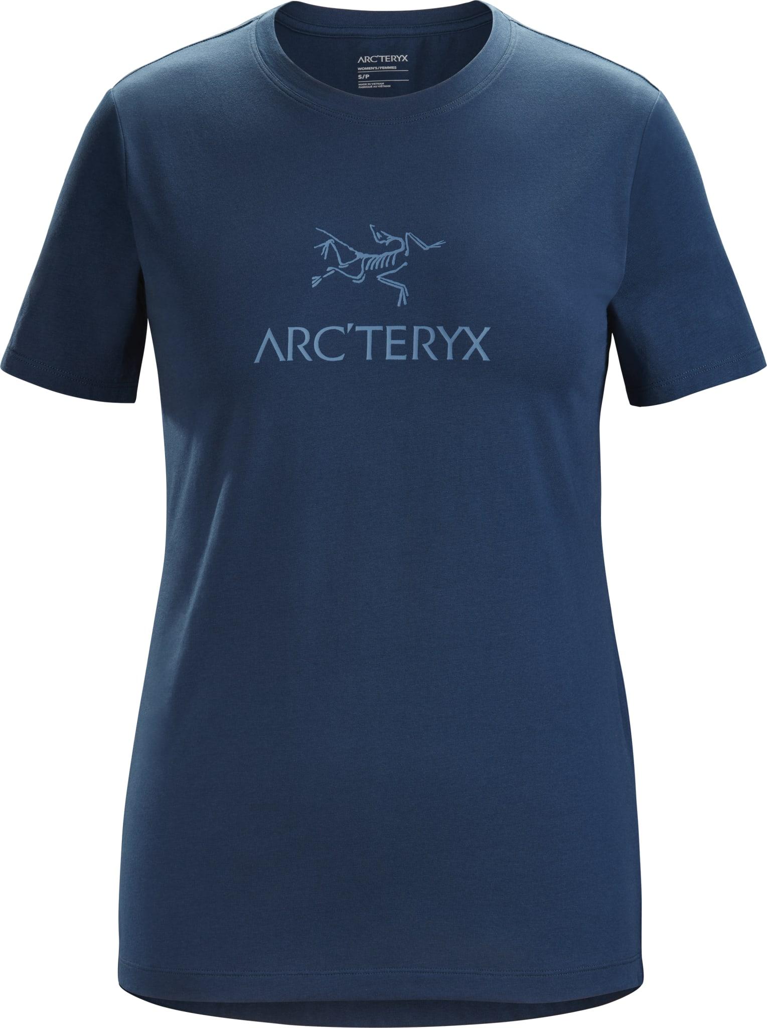 Bomulls t-skjorte med klassisk logo og god passform