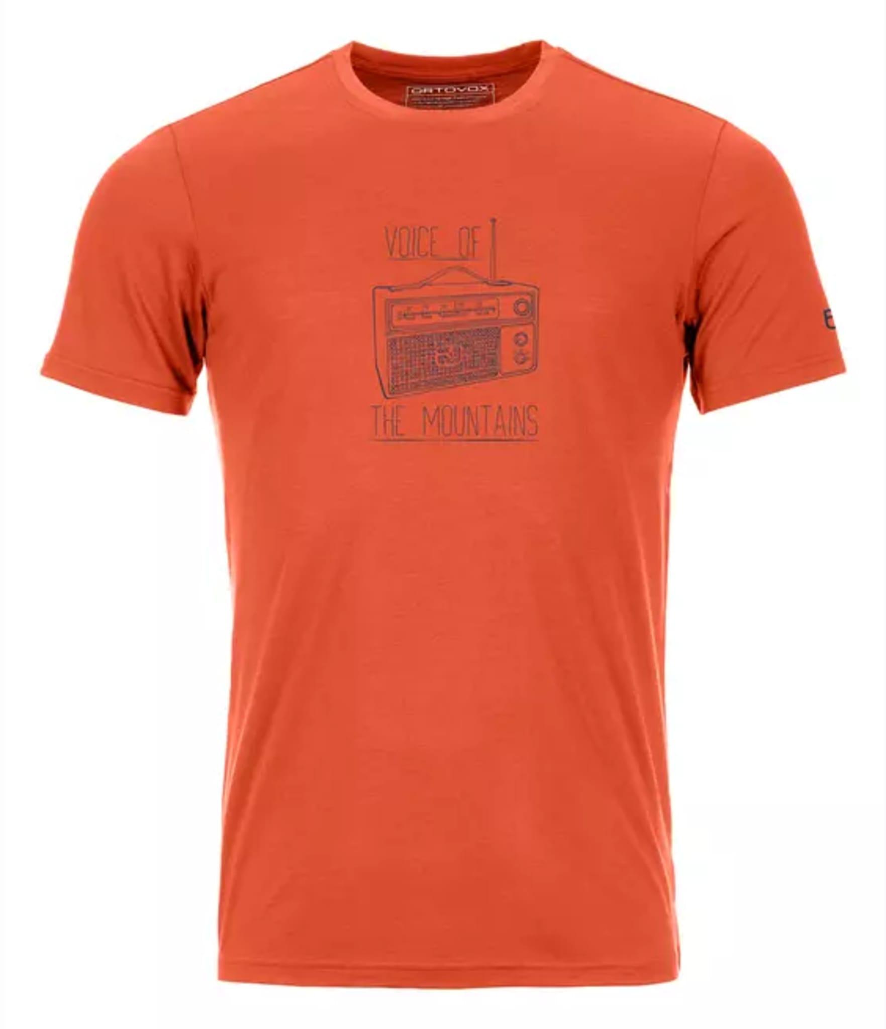 Elastisk og robust t-skjorte i merinoull og Lyocell