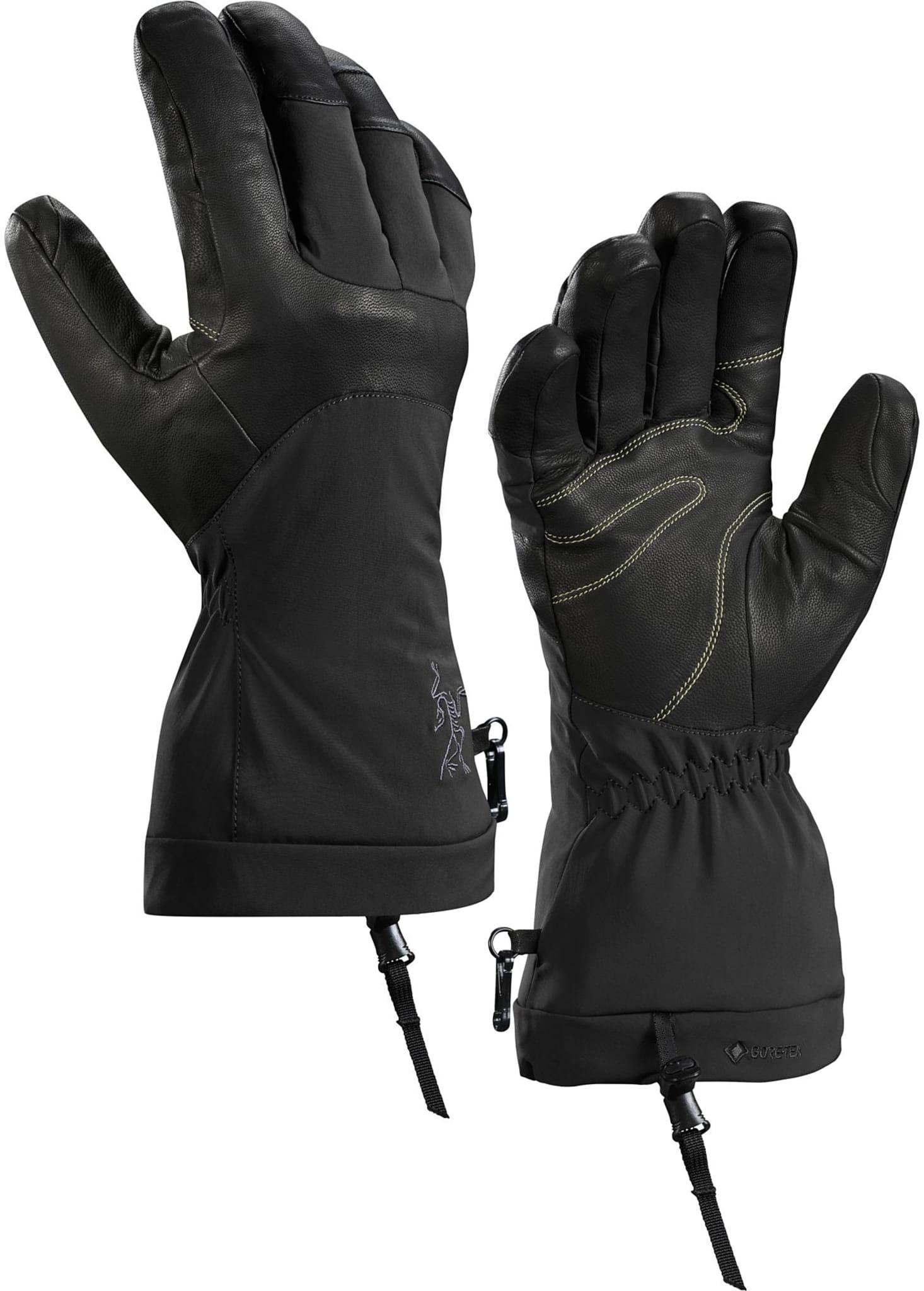 Allsidige hansker for vintersport med GORE-TEX, Primaloft og lær