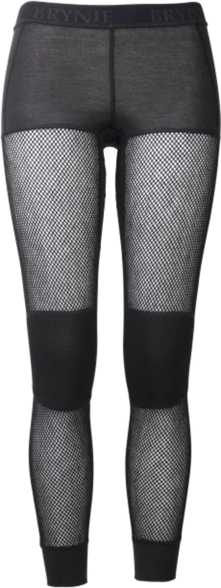 Longs i netting med ekstra varme på knærne