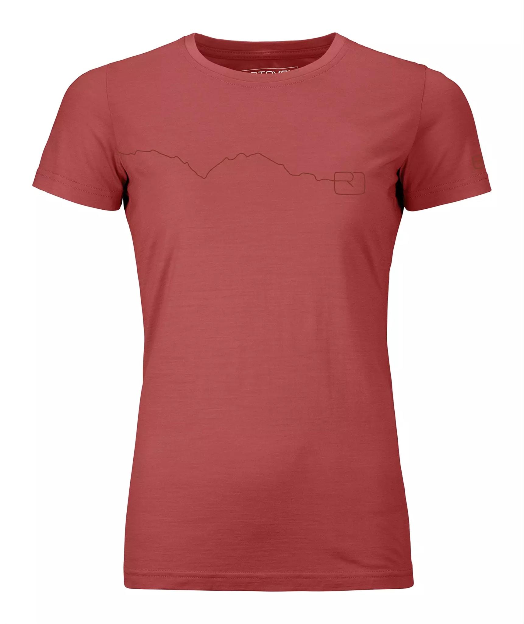 120 Tec Mountain T-Shirt Ws