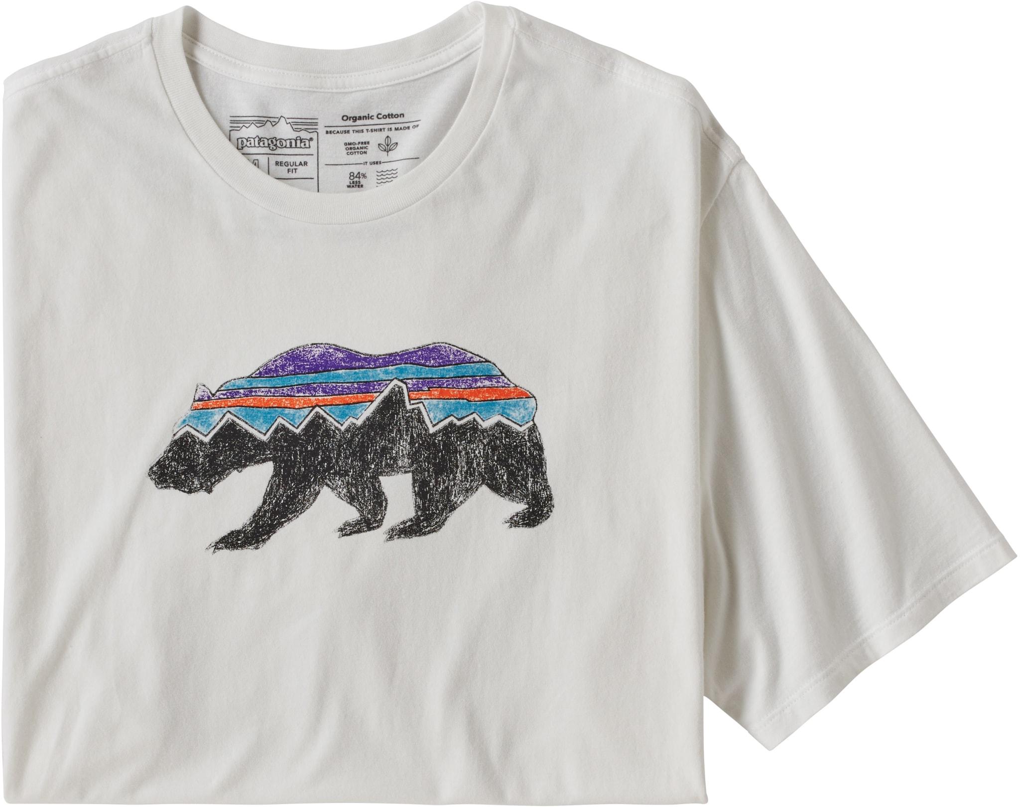 M Fitz Roy Bear Organic T-Shir