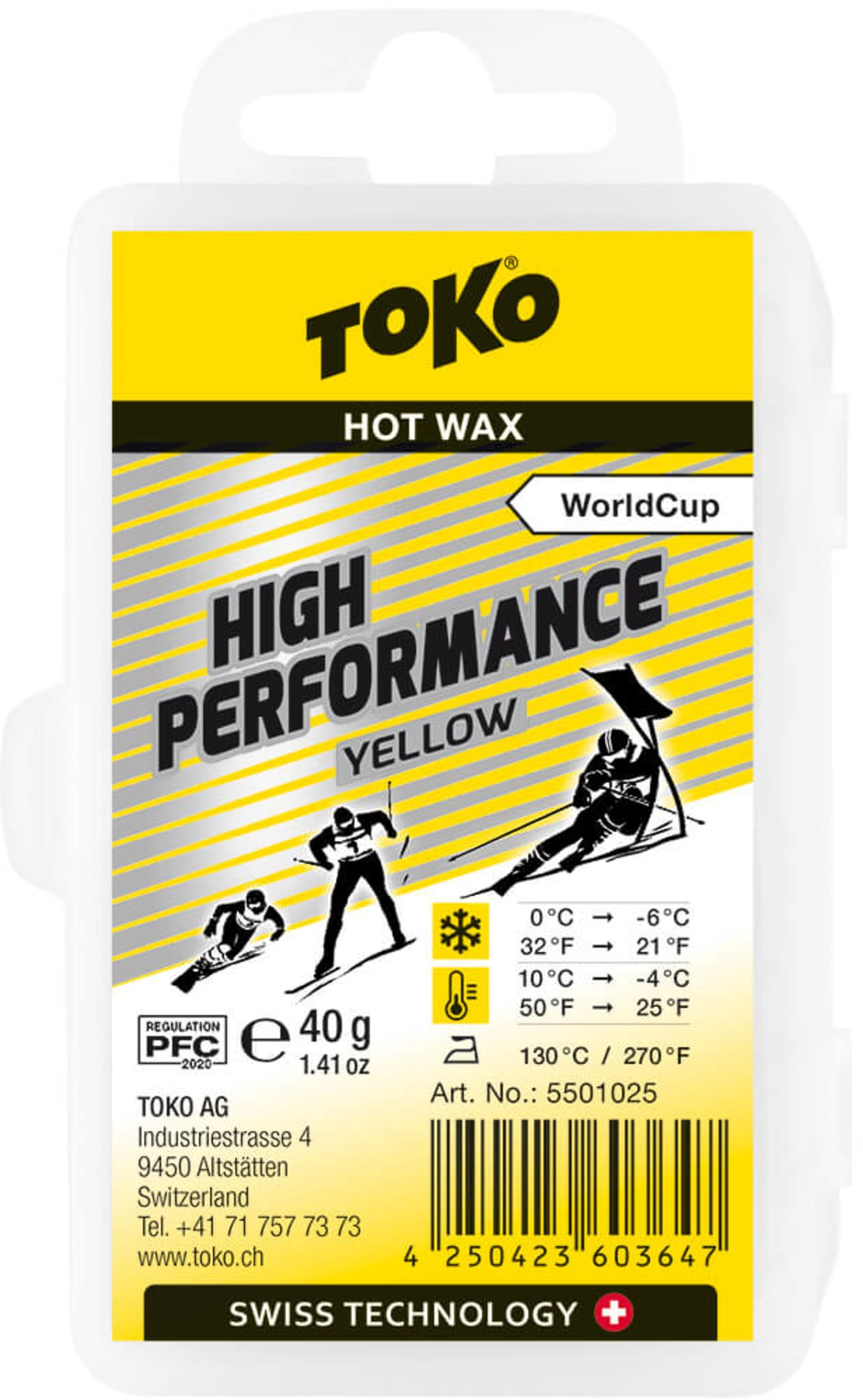 High Performance Yellow 40g