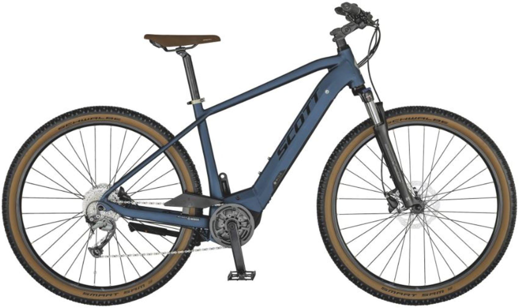 Suveren sykkel for forskjellige underlagene man normalt møter på sine turer, enten det er grus, asfalt eller steinlagte veier.