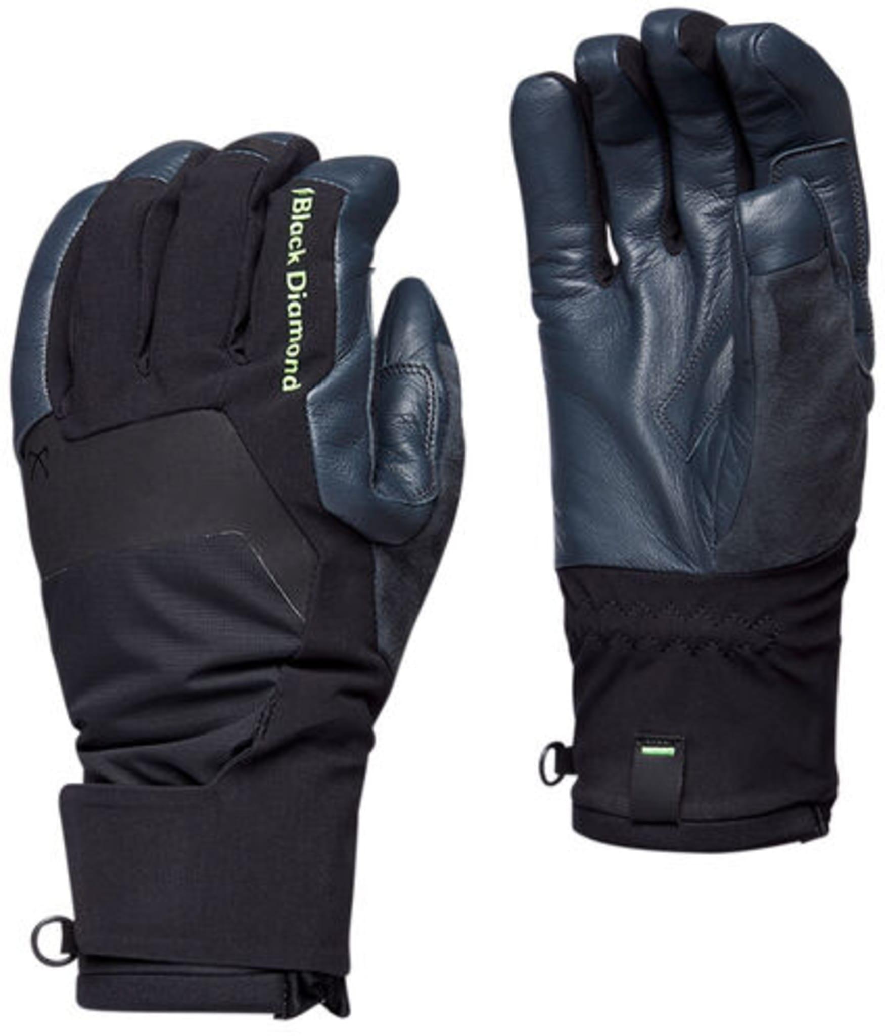Varm og vanntett hanske til isklatring