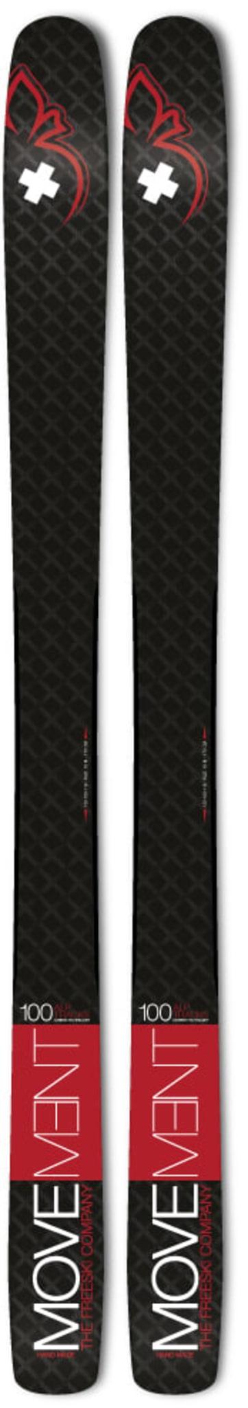 ALP TRACKS 100 LTD & Marker Alpinist 12
