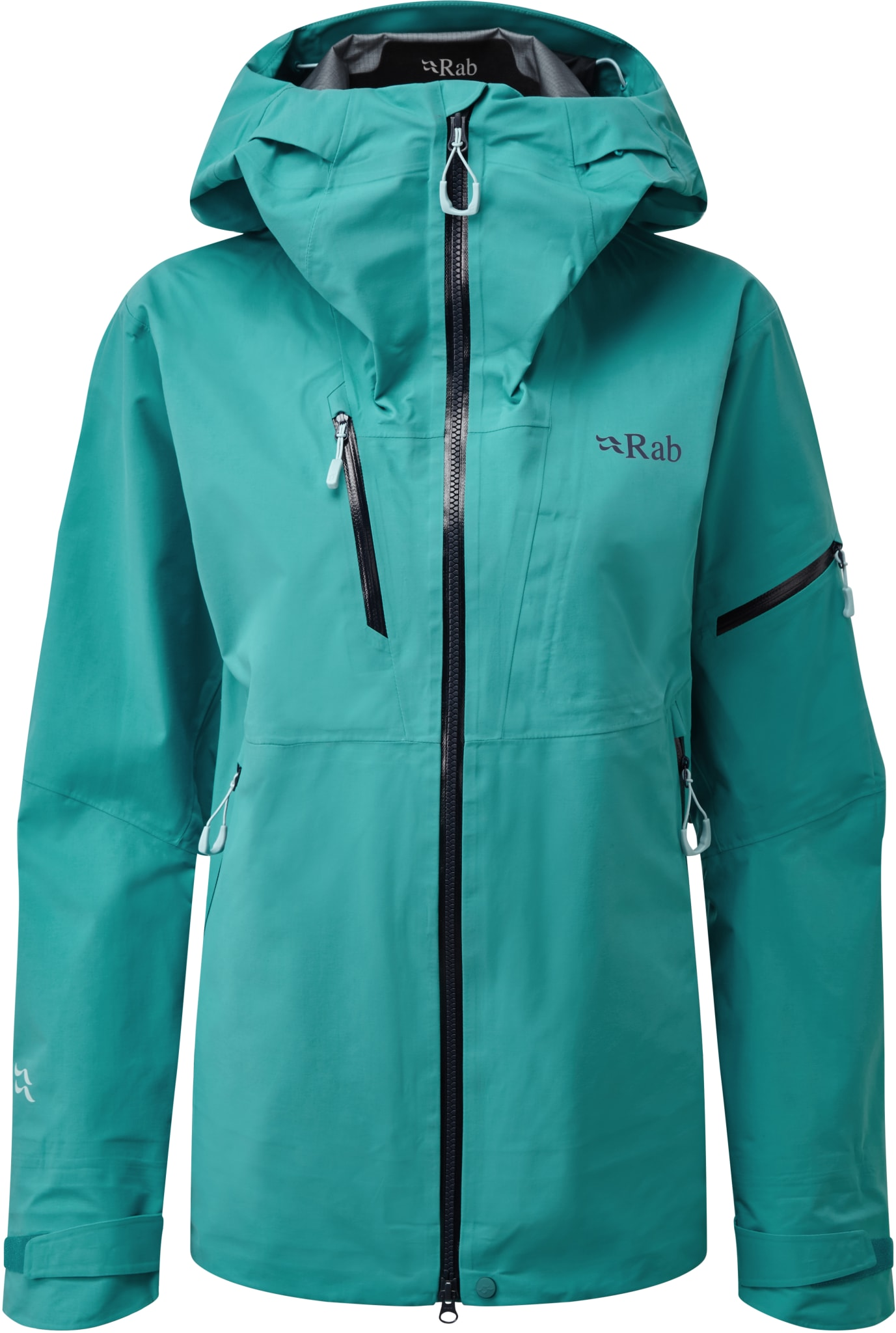Solid skijakke med Gore-Tex® Pro