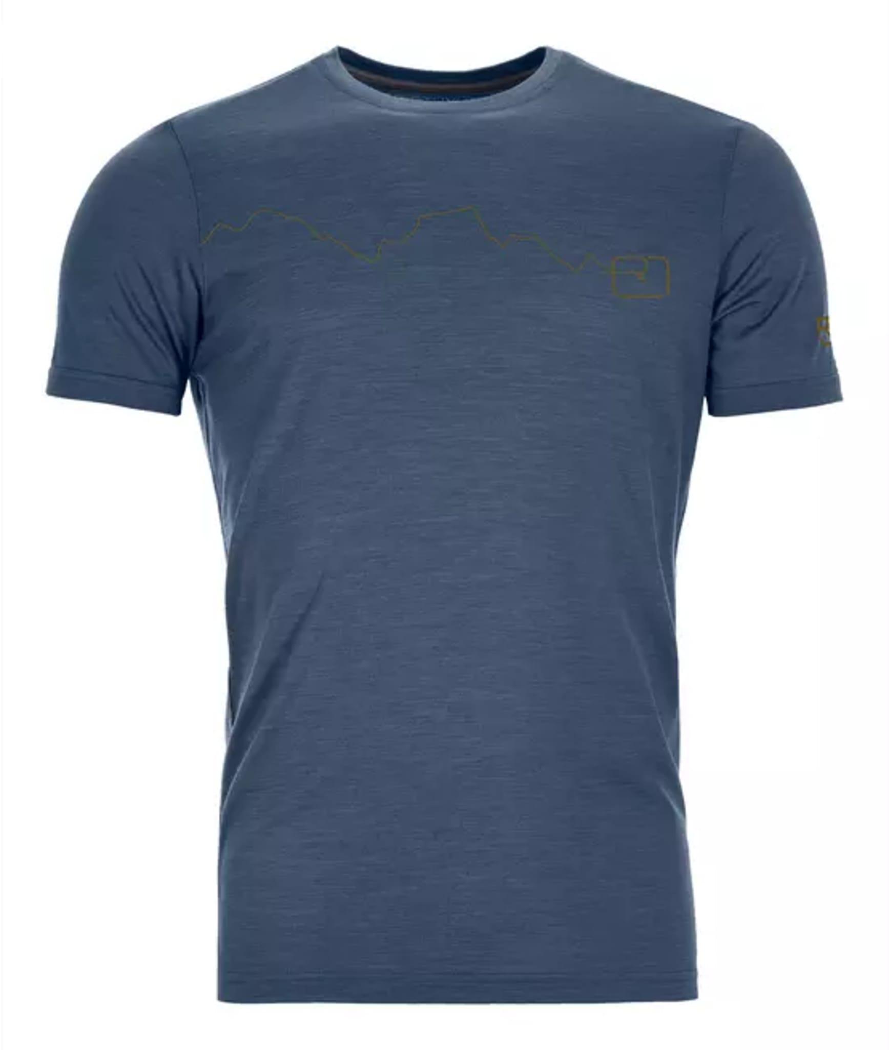 120 Tec Mountain T-Shirt Ms