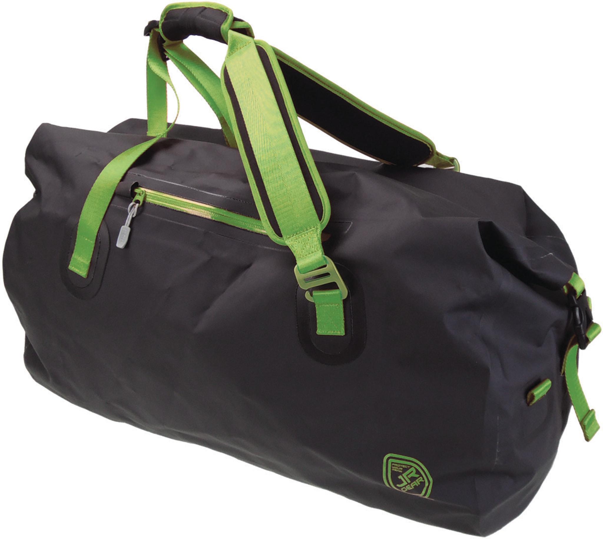 Solid duffelbag med rulletopp og vannavvisende egenskaper
