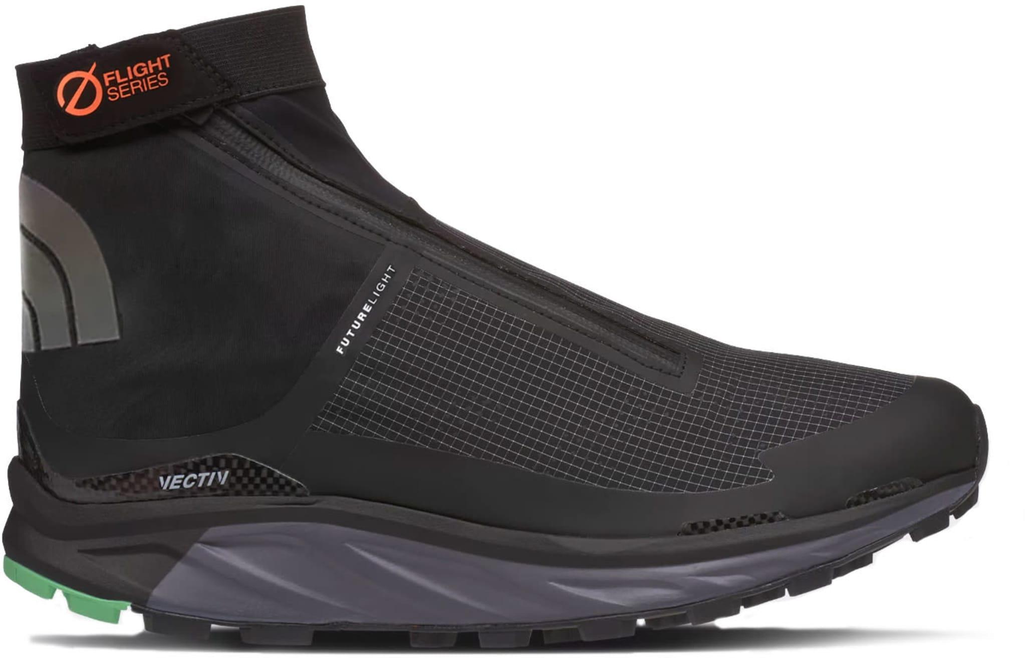 Vanntett terrengløp-sko med karbonfiberplate