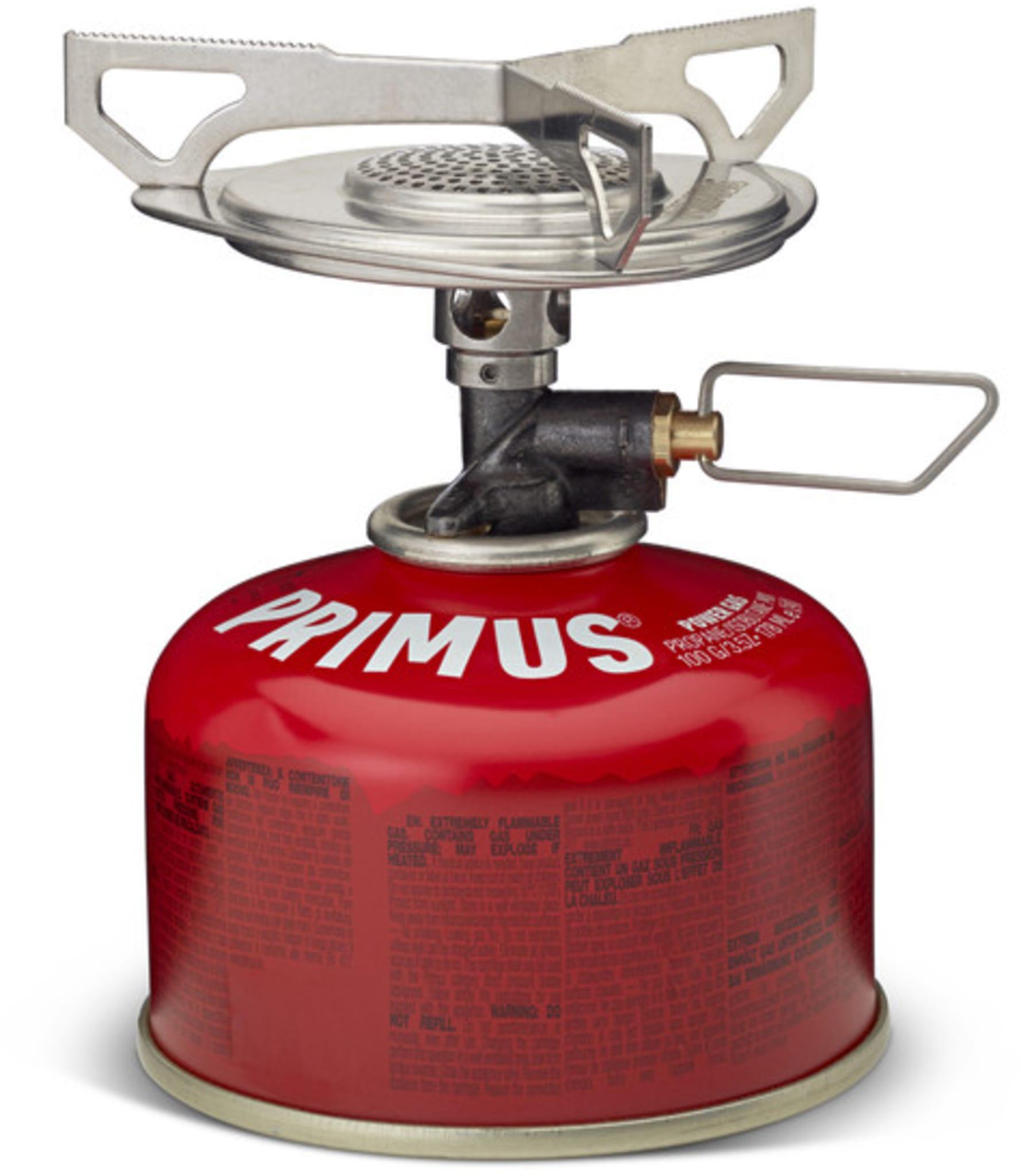 Enkel og kompakt gassbrenner