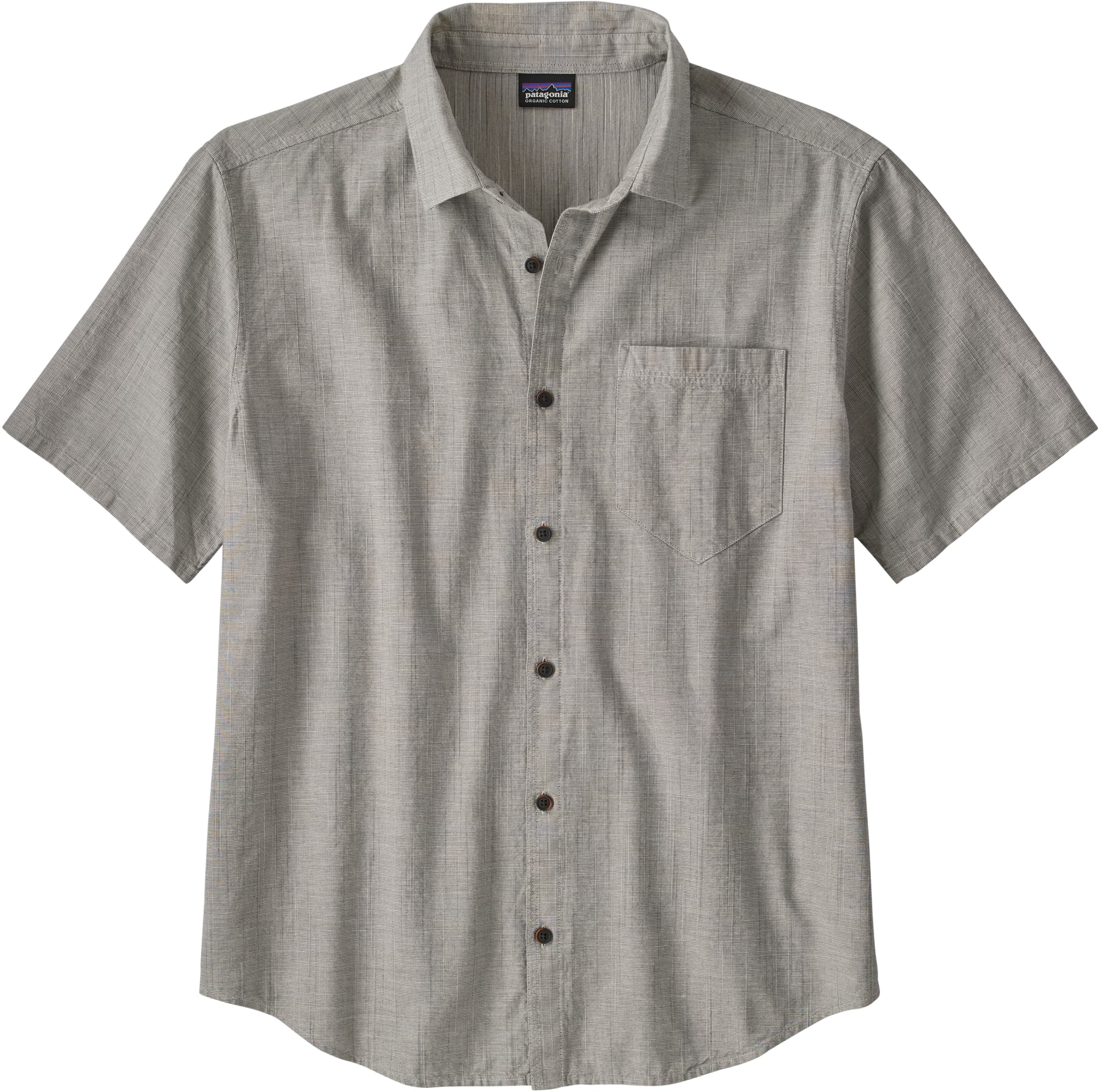 Kortermet skjorte i lett, organisk bomull