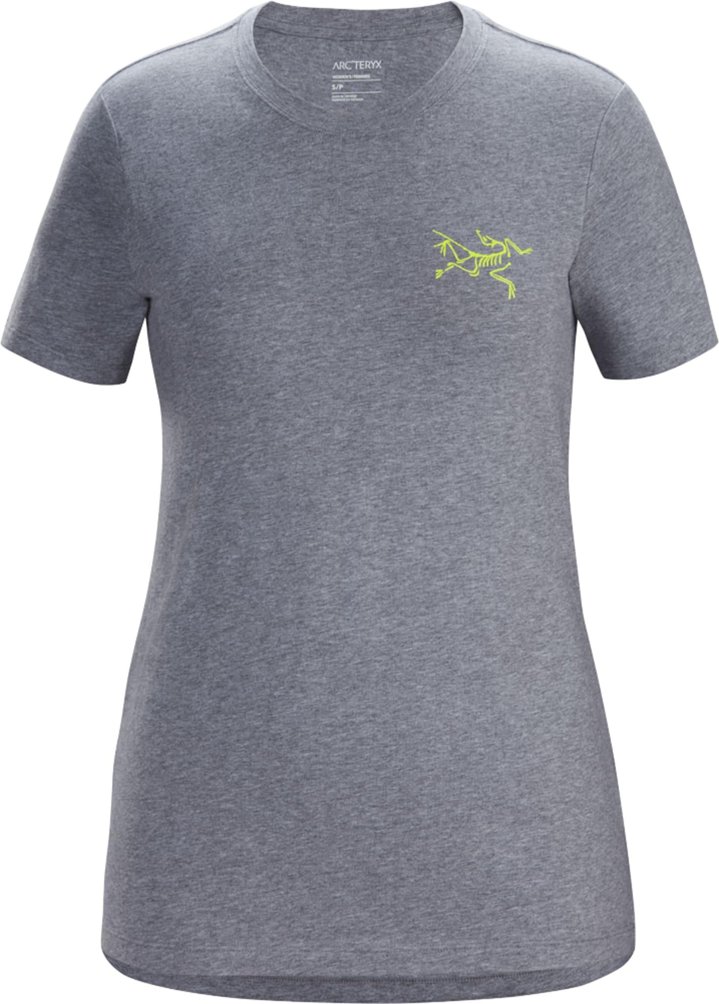 Lett og luftig t-skjorte i organisk bomull med trykk