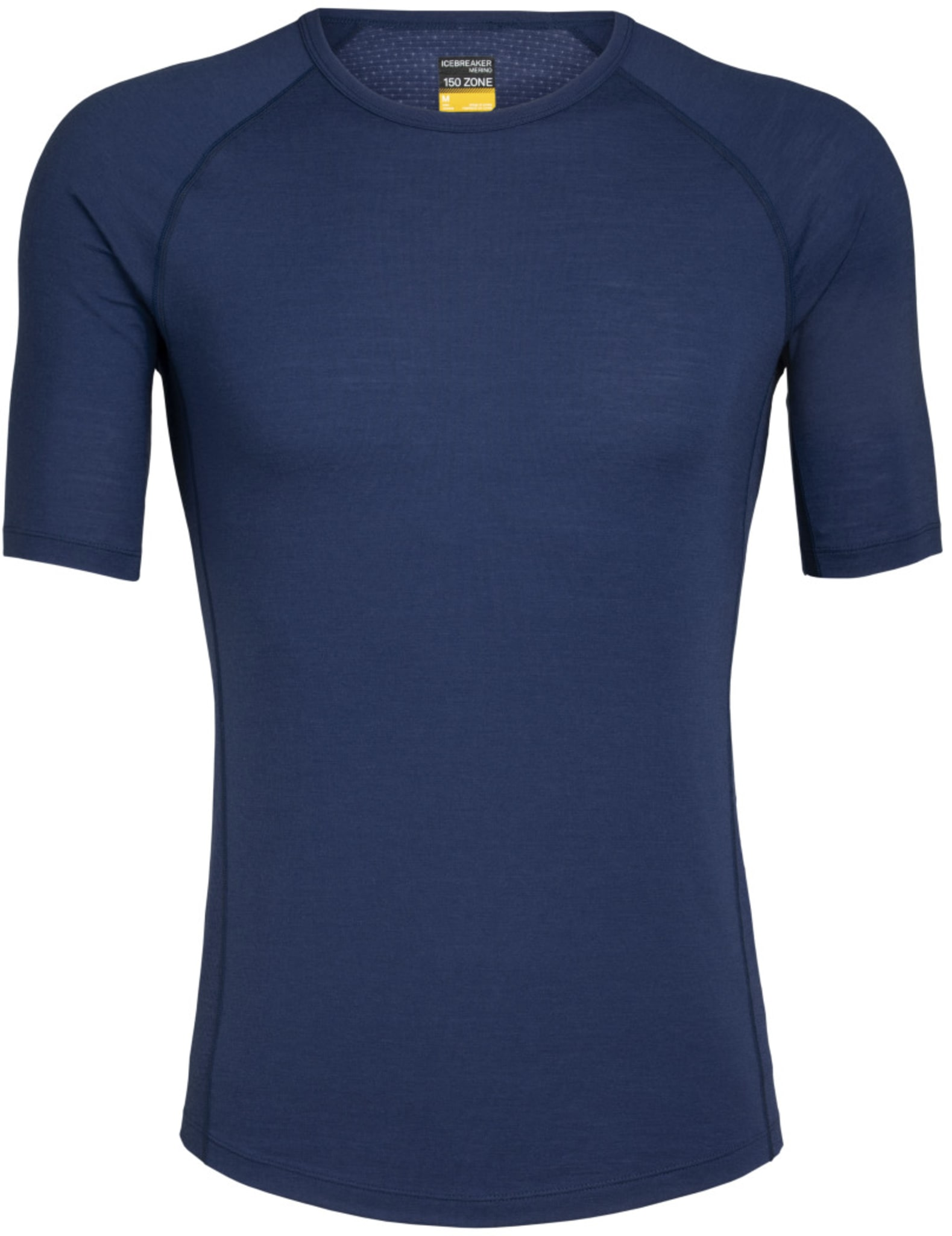T-skjorte som kombinerer tynn ull og paneler med ullnetting