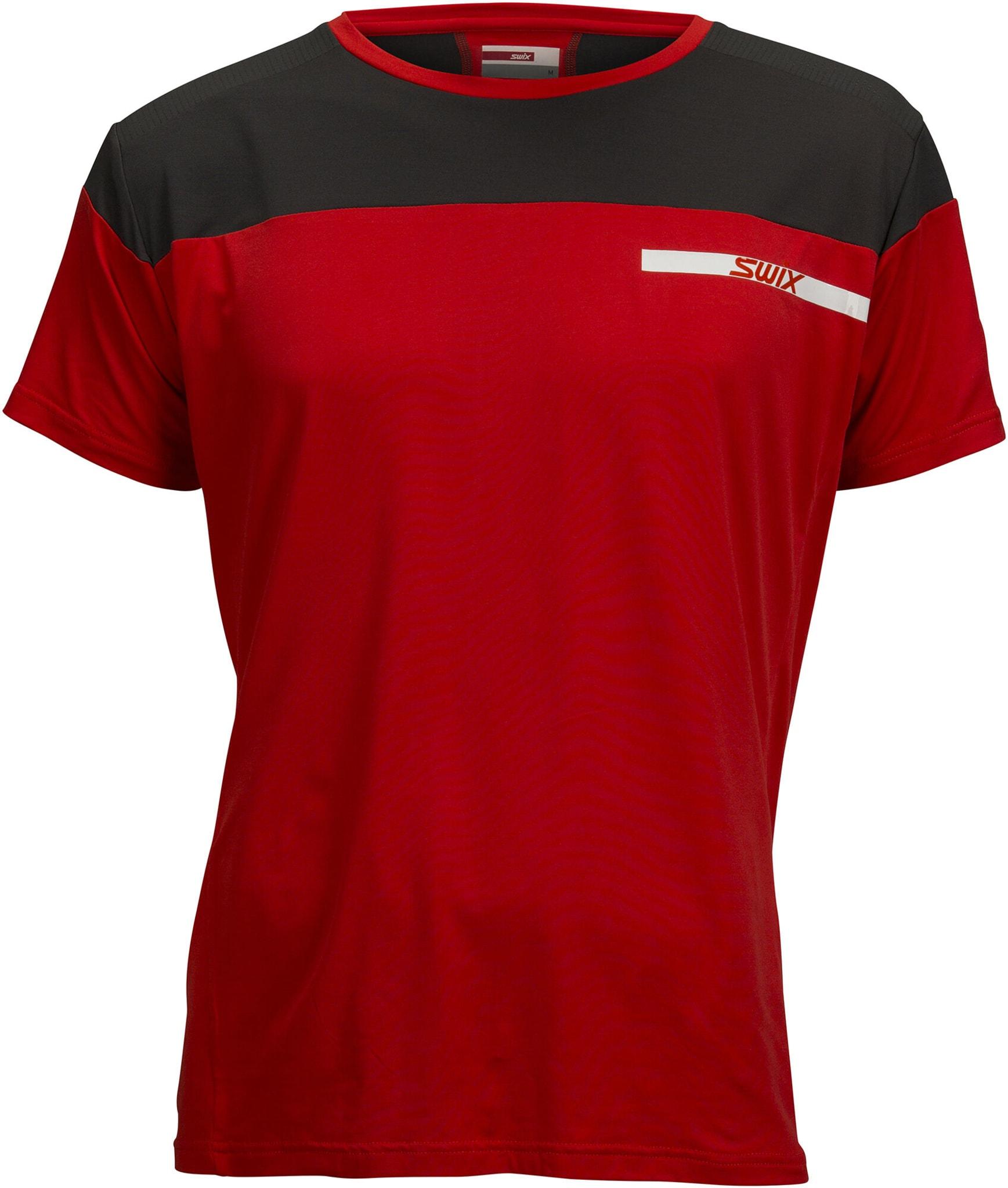 En veldig elastisk, lett, luftig og teknisk avansert trenings T-skjorte.