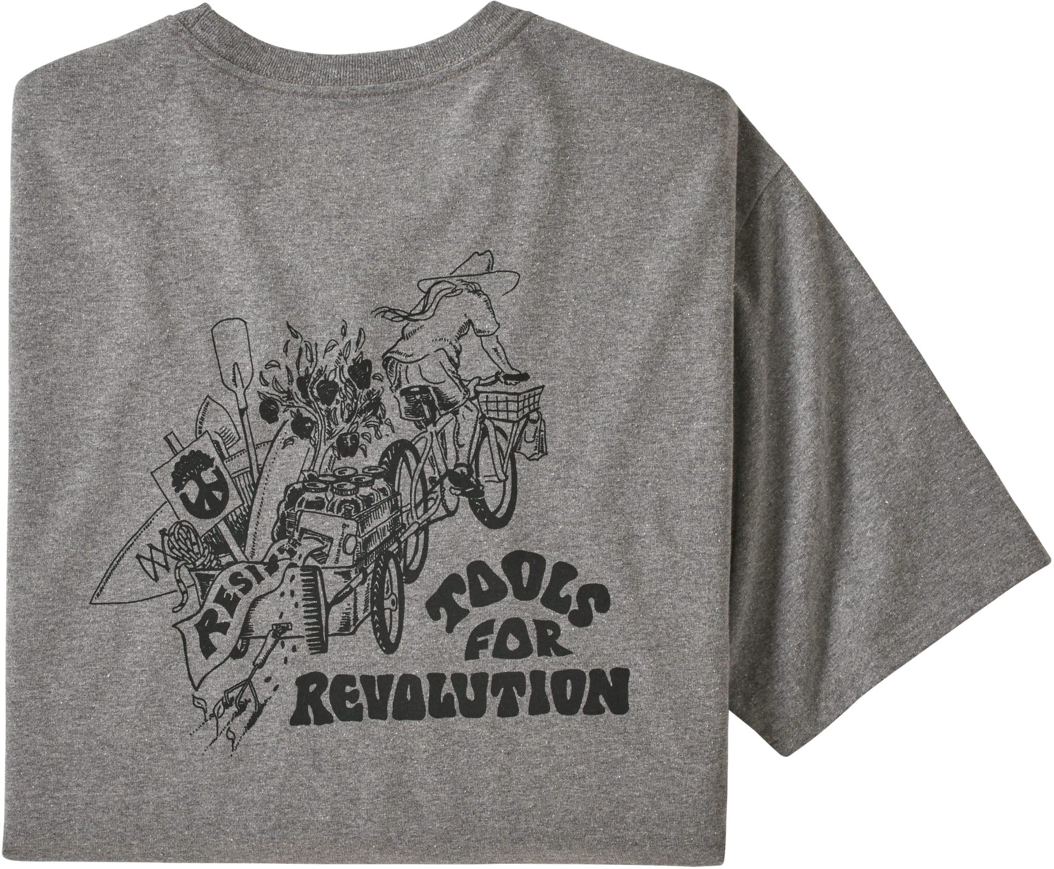 Superbehagelig t-skjorte laget i resirkulert bomull og polyester