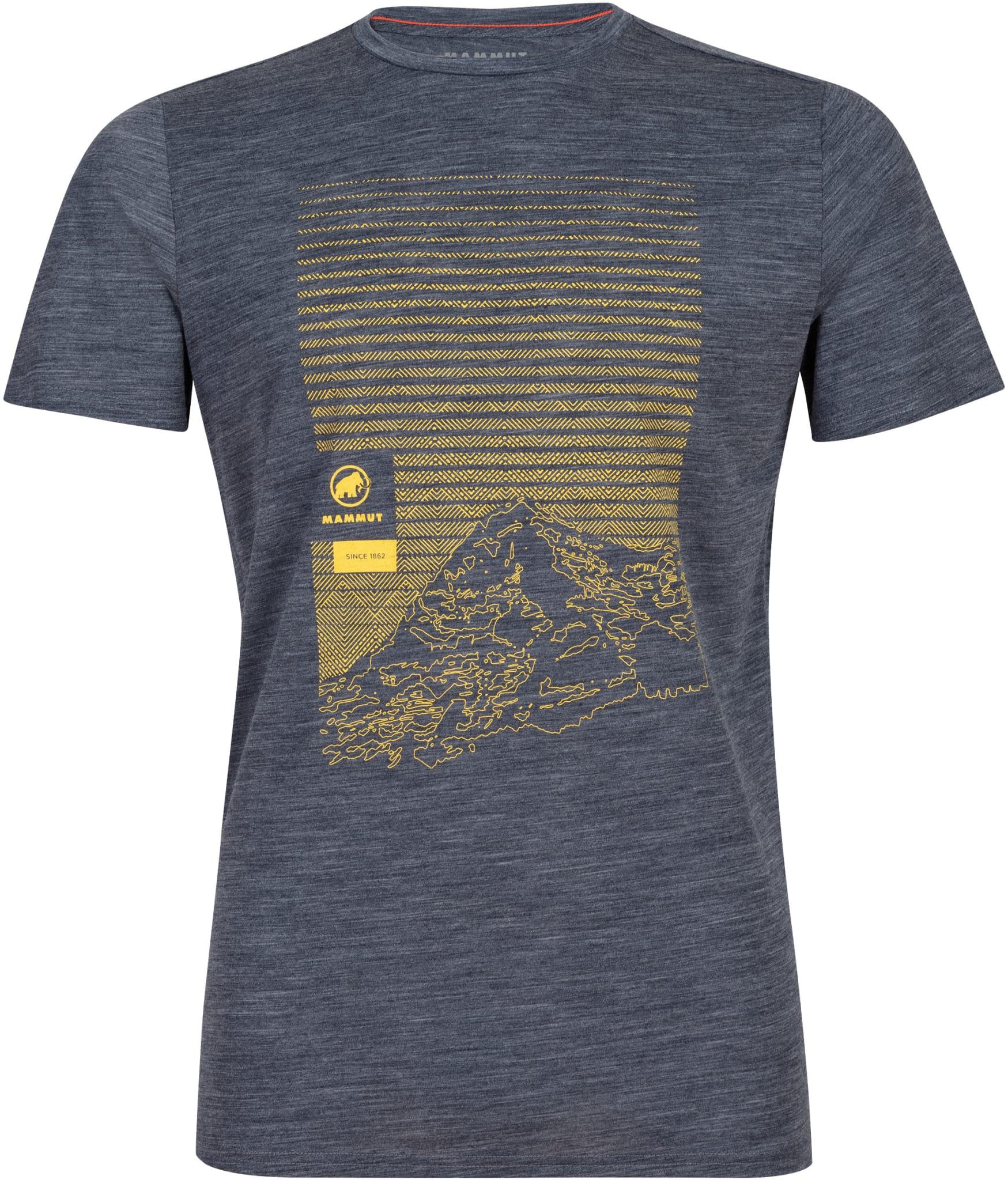 Deilig t-skjorte i merinoullblanding