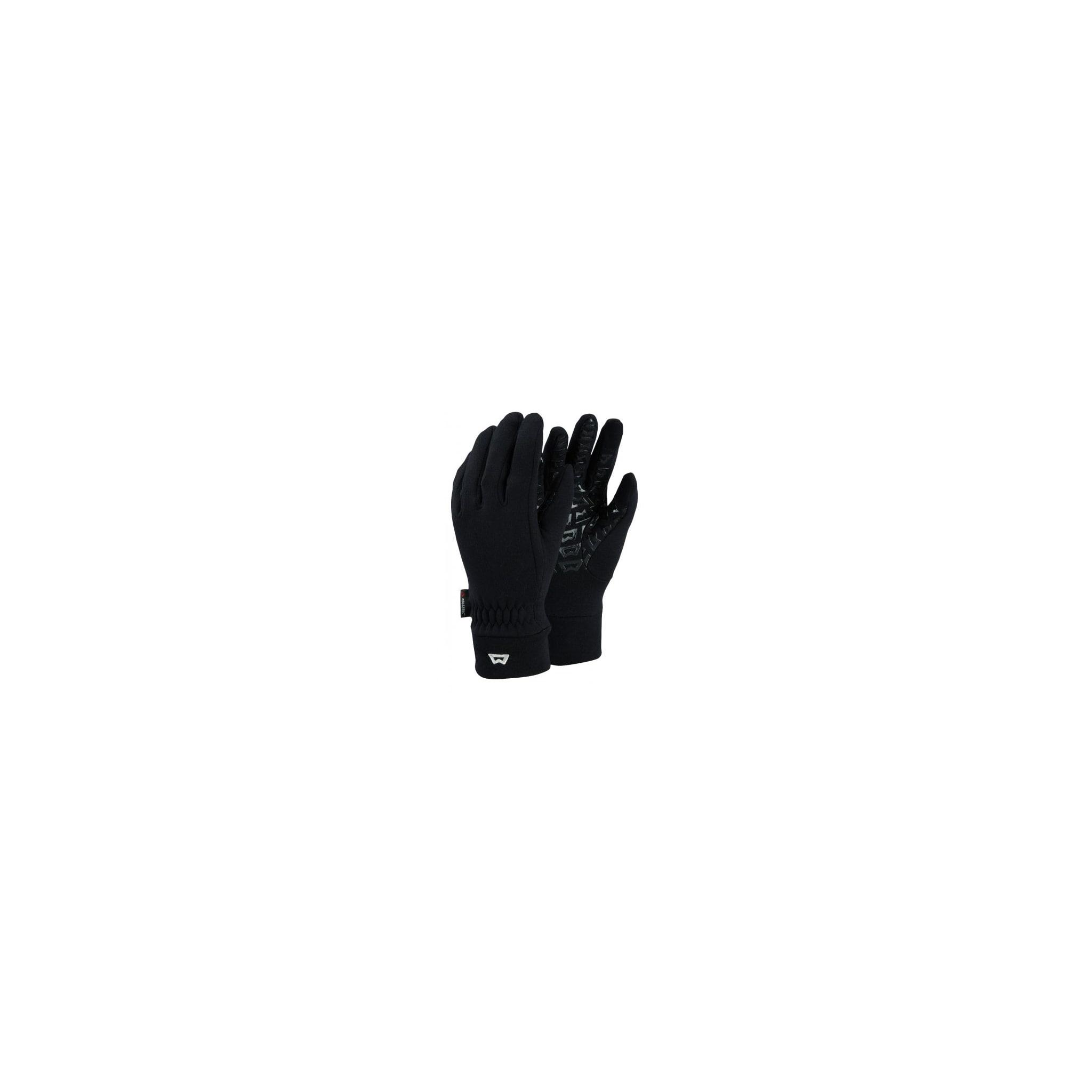 Fleecehansker med touch-screen kompatibel tommel og pekefinger