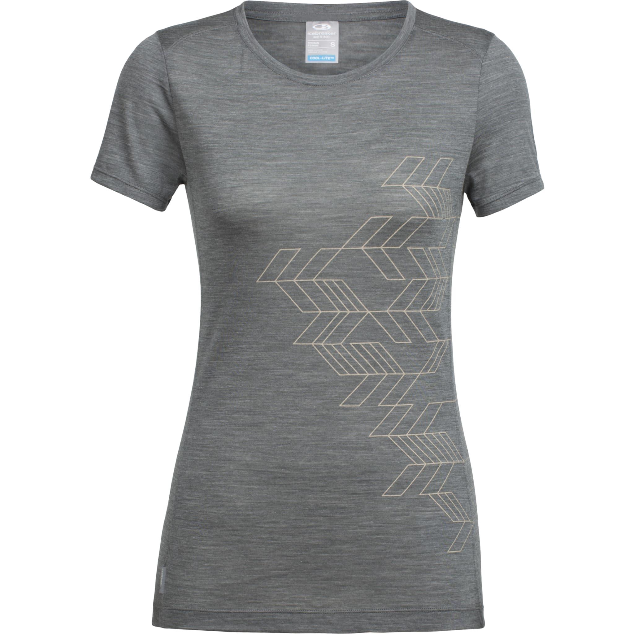Korterma skjorte i tynn merinoull perfekt til trening og reise