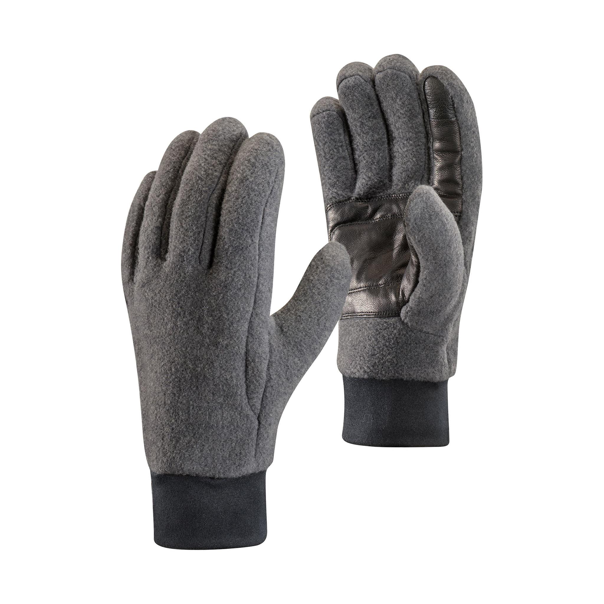 Ull og fleece hanske