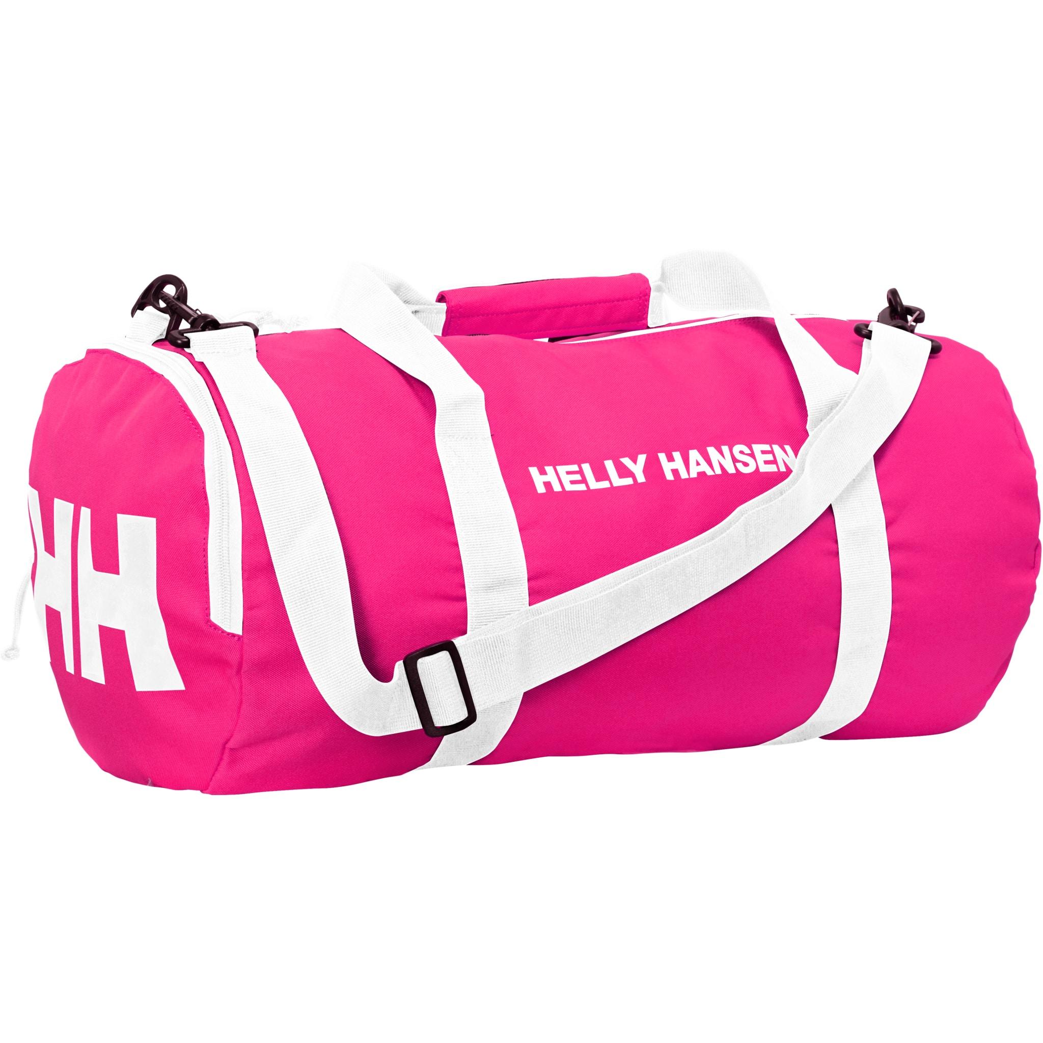 En lett, sammenleggbar 65L duffelbag.