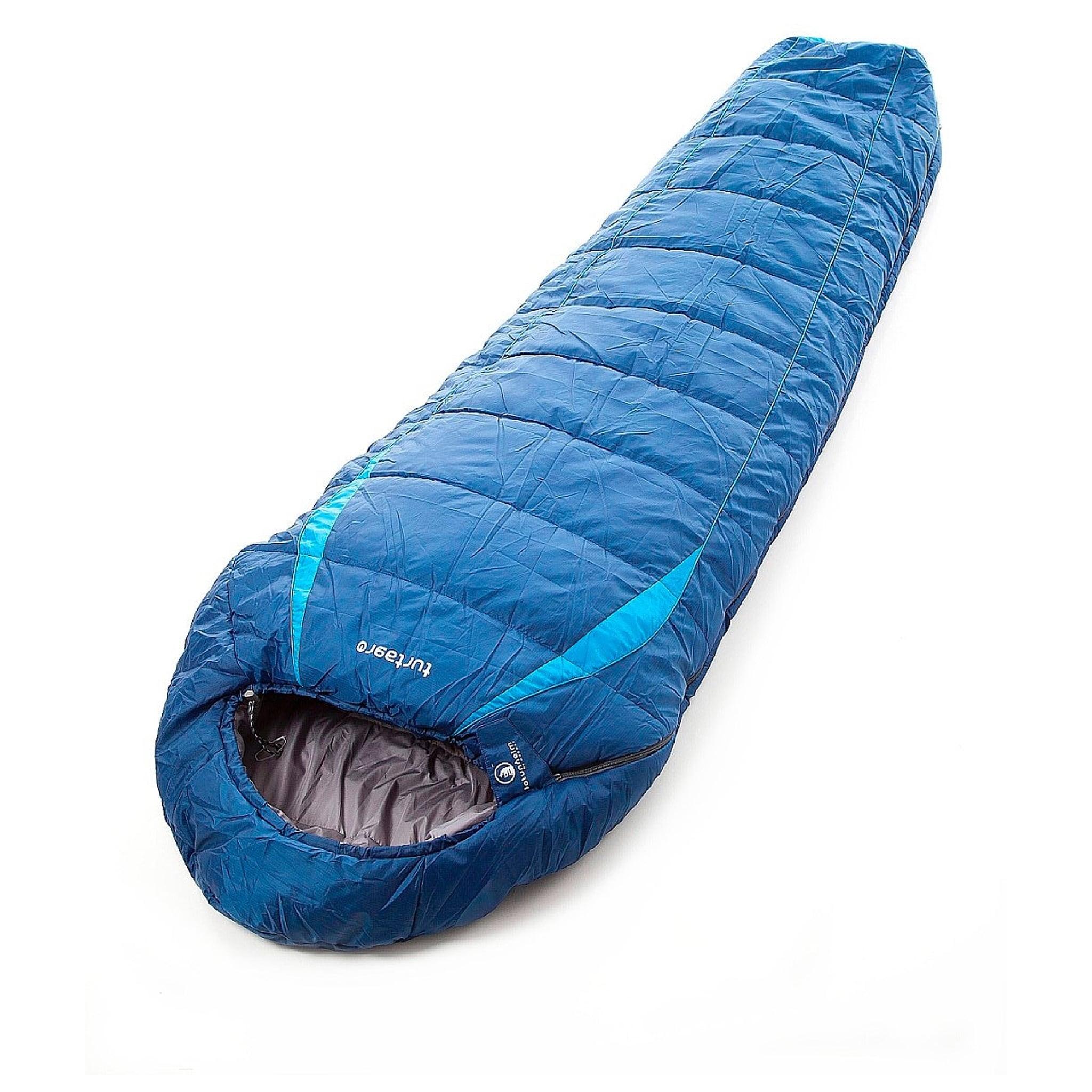 Enkel hulfiberpose med ytterstoff i ripstop-polyester.