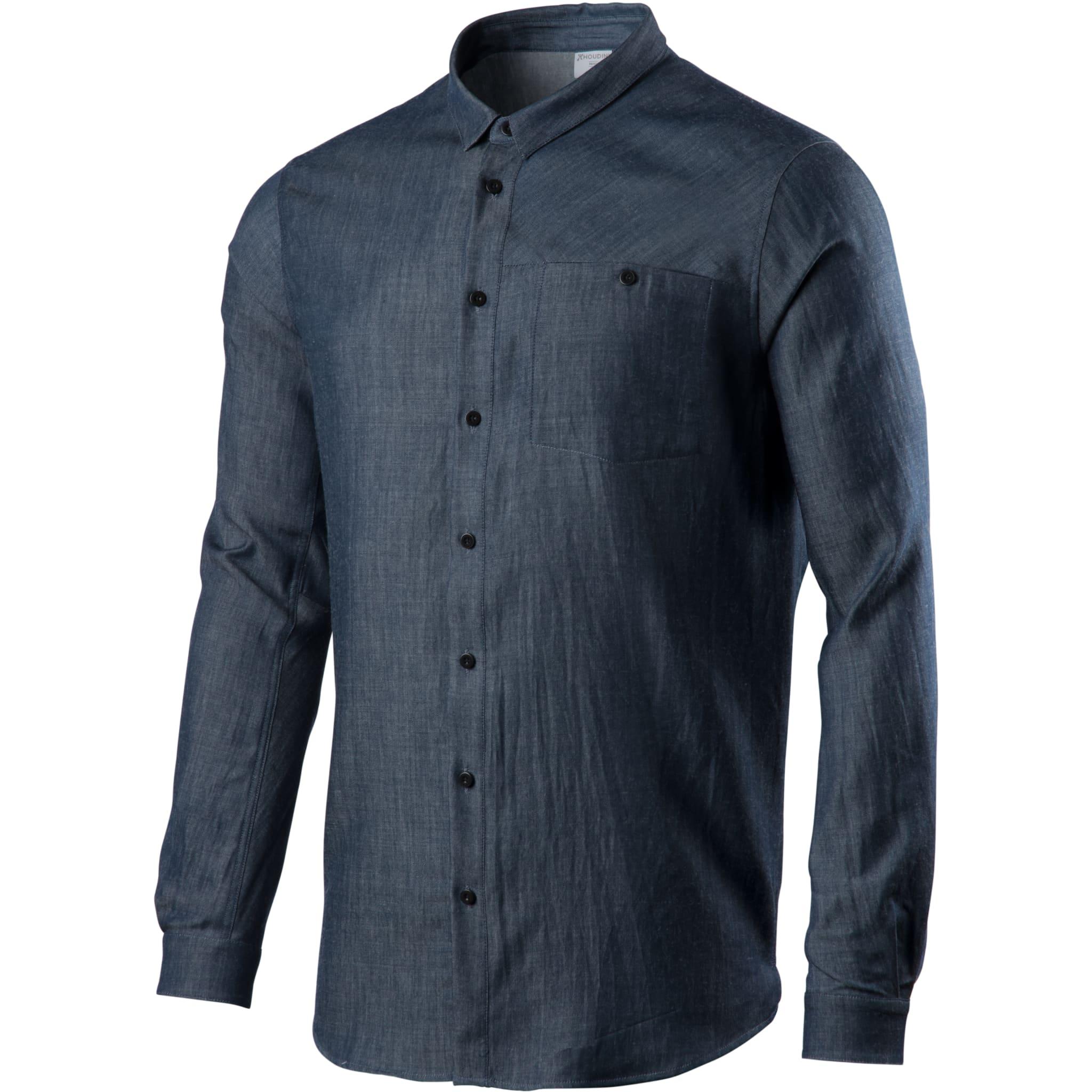 Behagelig og stilren ullskjorte