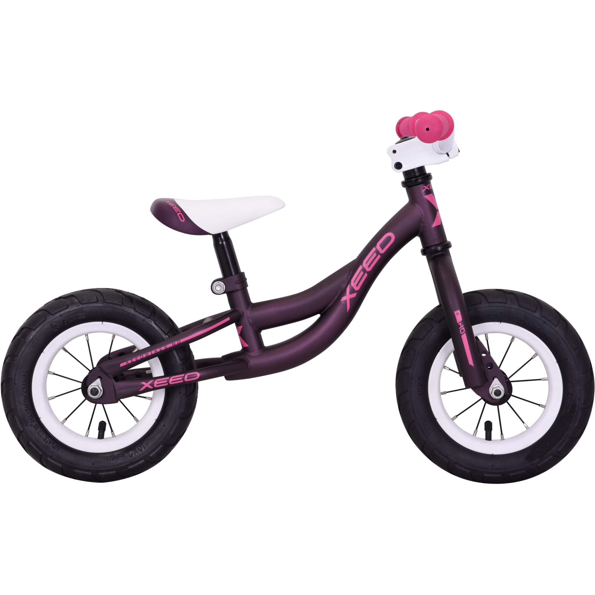 """Smart løpesykkel med 10"""" hjul for barn som snart skal lære å sykle."""